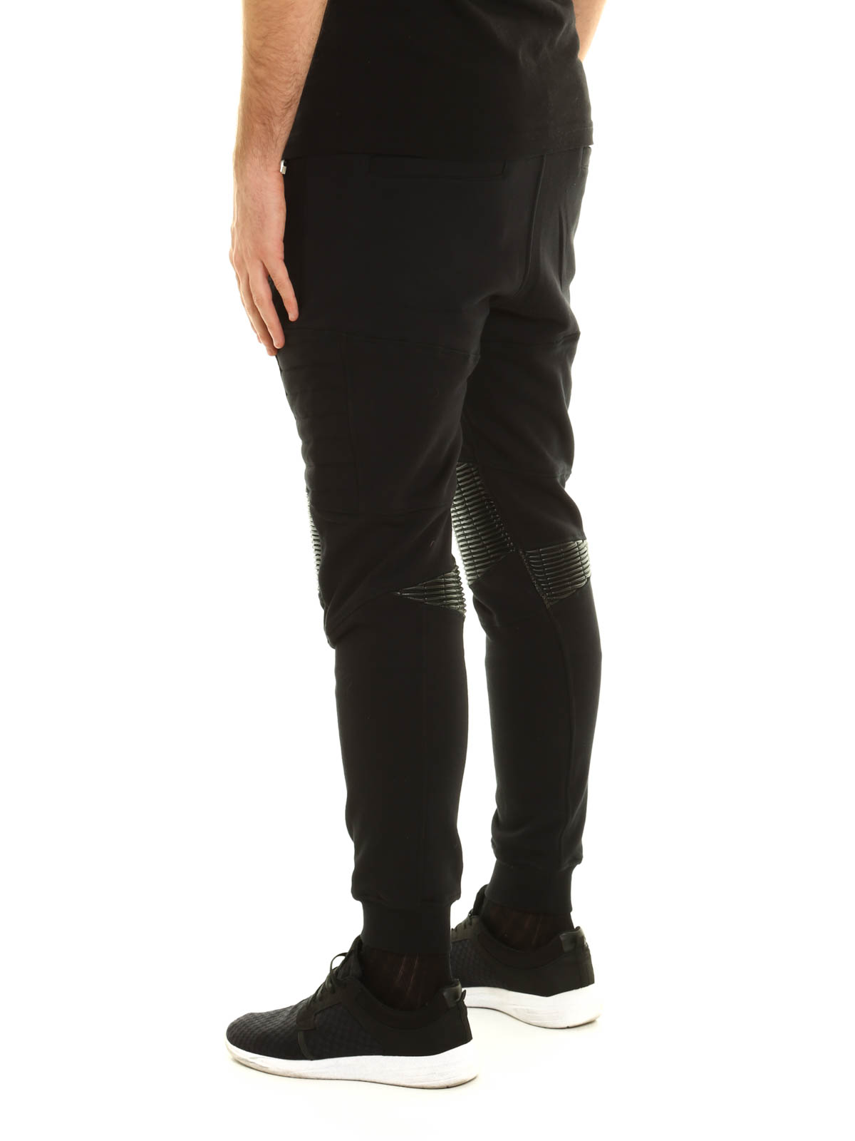 86e8fe166cc iKRIX PHILIPP PLEIN: tracksuit bottoms - Gold card cotton tracksuit bottom