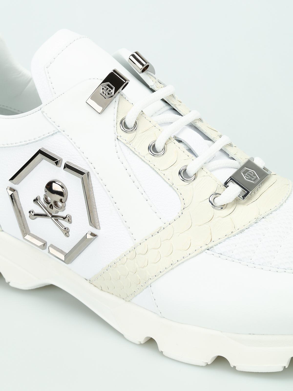 Philipp Plein - Hanzo leather sneakers