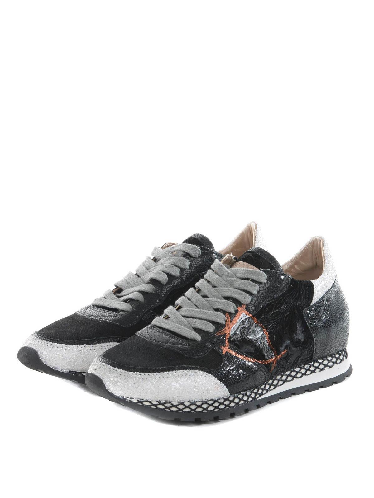Philippe Model - Sneaker running in pelle - sneakers - SRLD ED02 7a89de15747