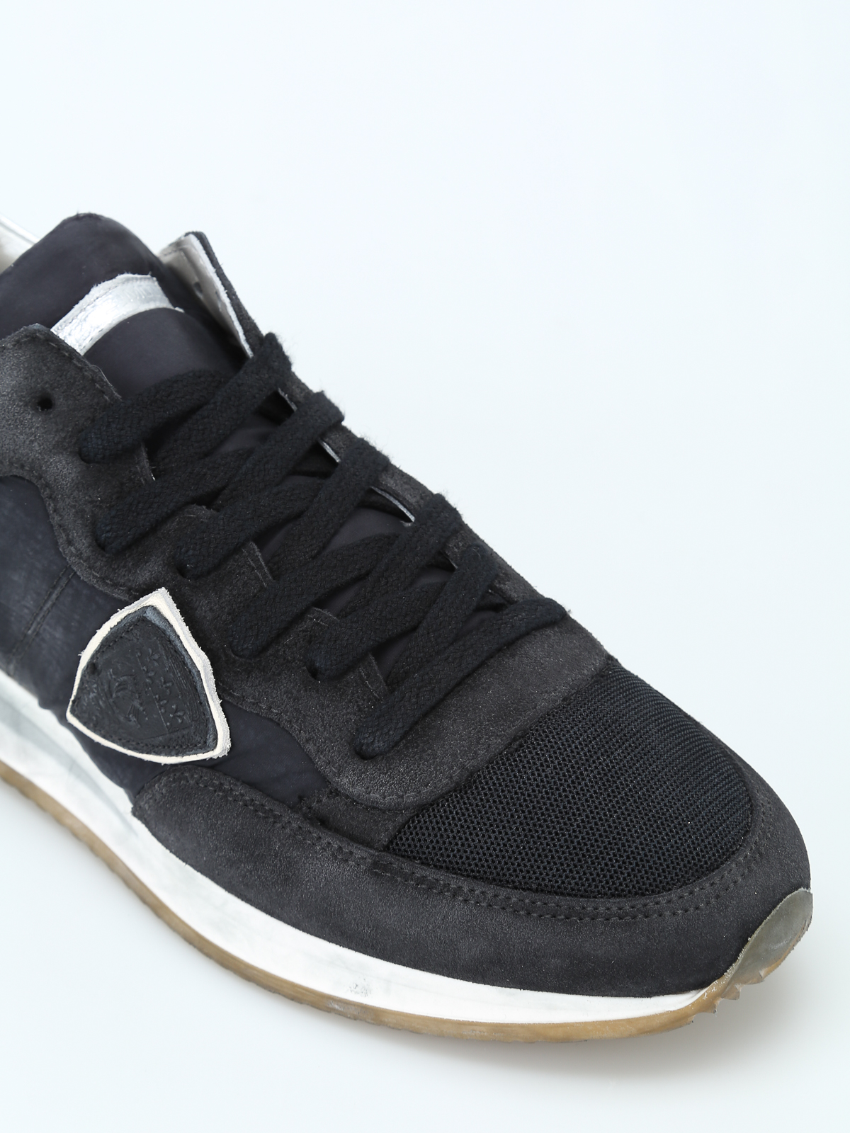 sito affidabile 18380 5bbff Philippe Model - Sneaker basse nere Tropez - sneakers - TRLD ...