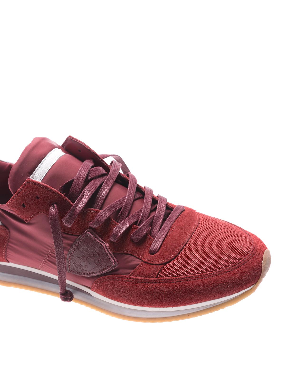 iKRIX PHILIPPE MODEL  sneakers - Sneaker basse Tropez Mondial rosse ccd63a69d65