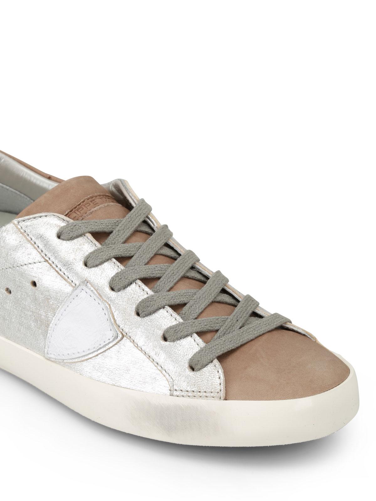 Paris metallic sneakers Philippe Model tn7DqBb