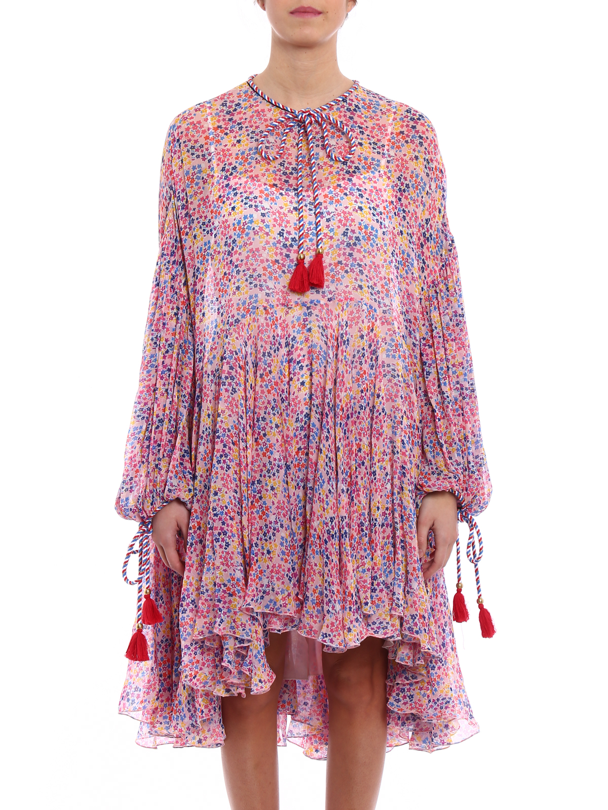 Latest Collections  loose fit shirt dress - Pink & Purple Philosophy di Lorenzo Serafini 2018 Sale Online Authentic For Sale Discount Marketable Outlet Lowest Price r8CAfKn