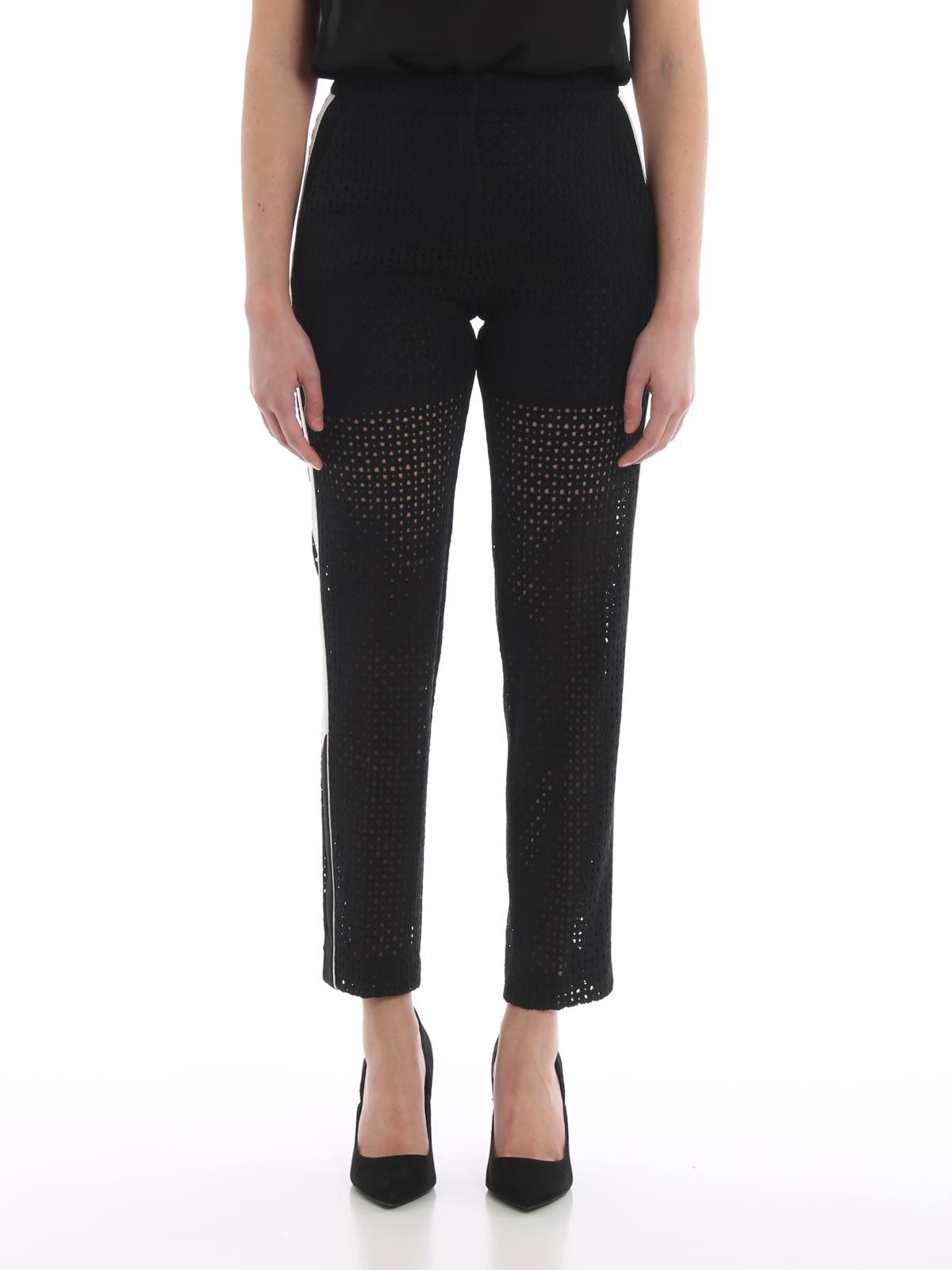 the best attitude 56bda 56c03 Pinko - Pantaloni Venale in pizzo rebrodé - pantaloni casual ...