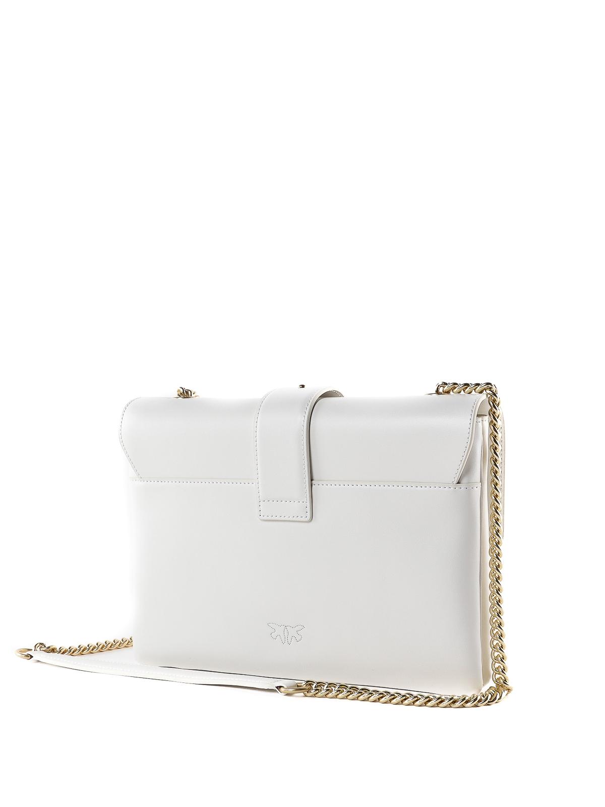 f95704bcef9857 Pinko - Love Bag Simply bianca - borse a tracolla - 1P21B1Y5EU I09