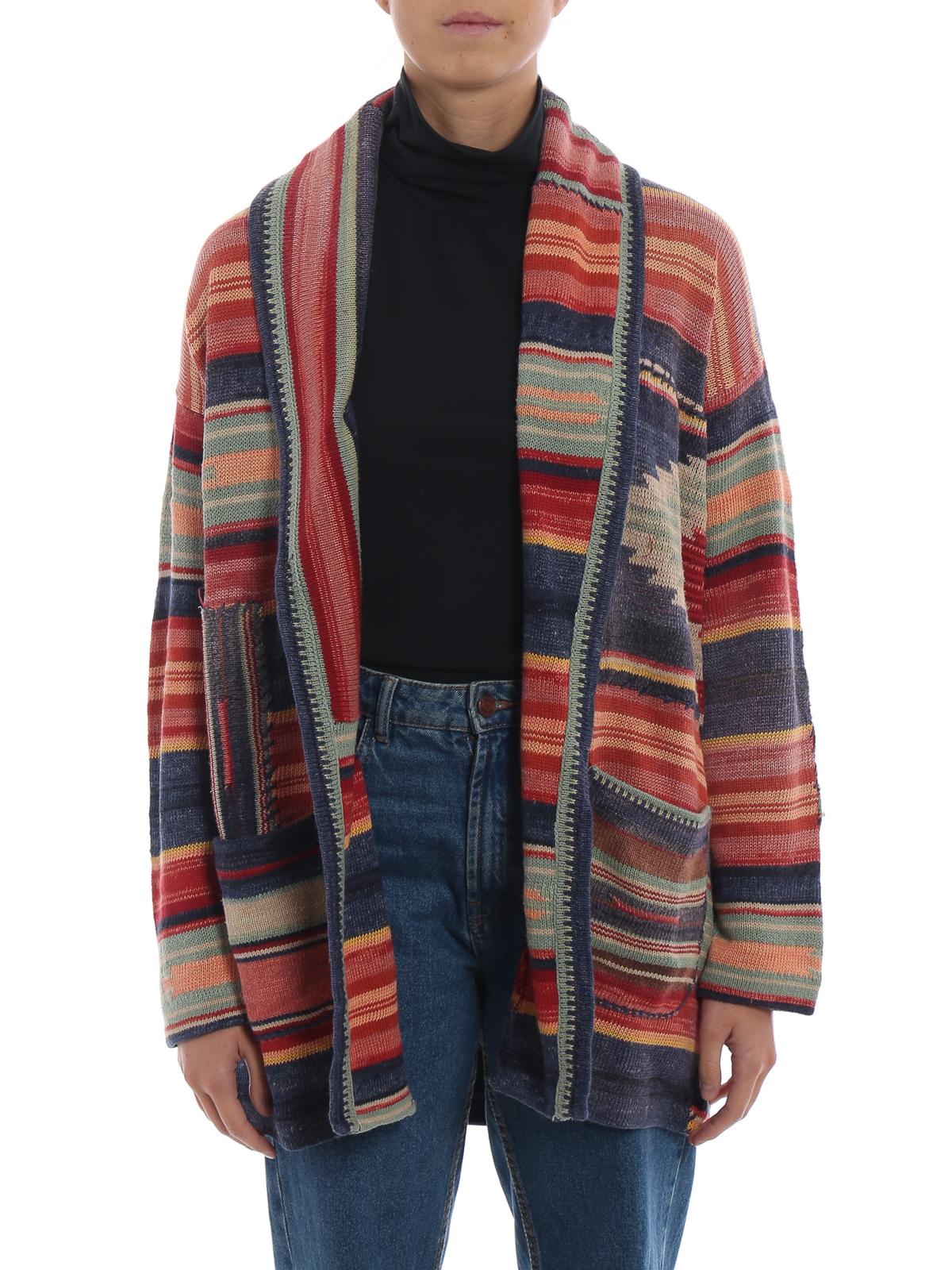 Ralph Polo Multicolore Lauren 211704993001 Cardigans Cardigan xedCroB