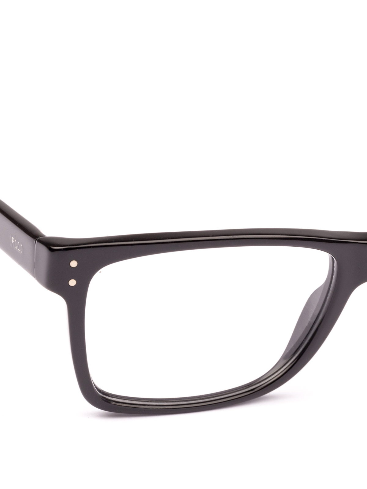 29a636450fcf4 iKRIX POLO RALPH LAUREN  Glasses - Black acetate frame square glasses