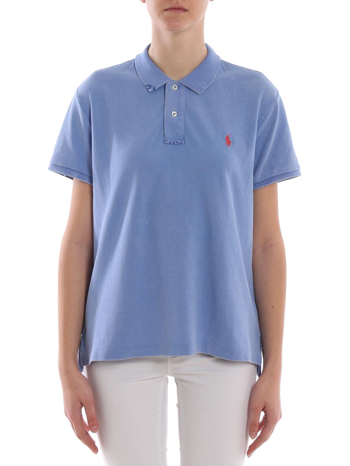 watch 03f7b 48956 Polo Ralph Lauren - Poloshirt - Blau - Poloshirts - 211744518005