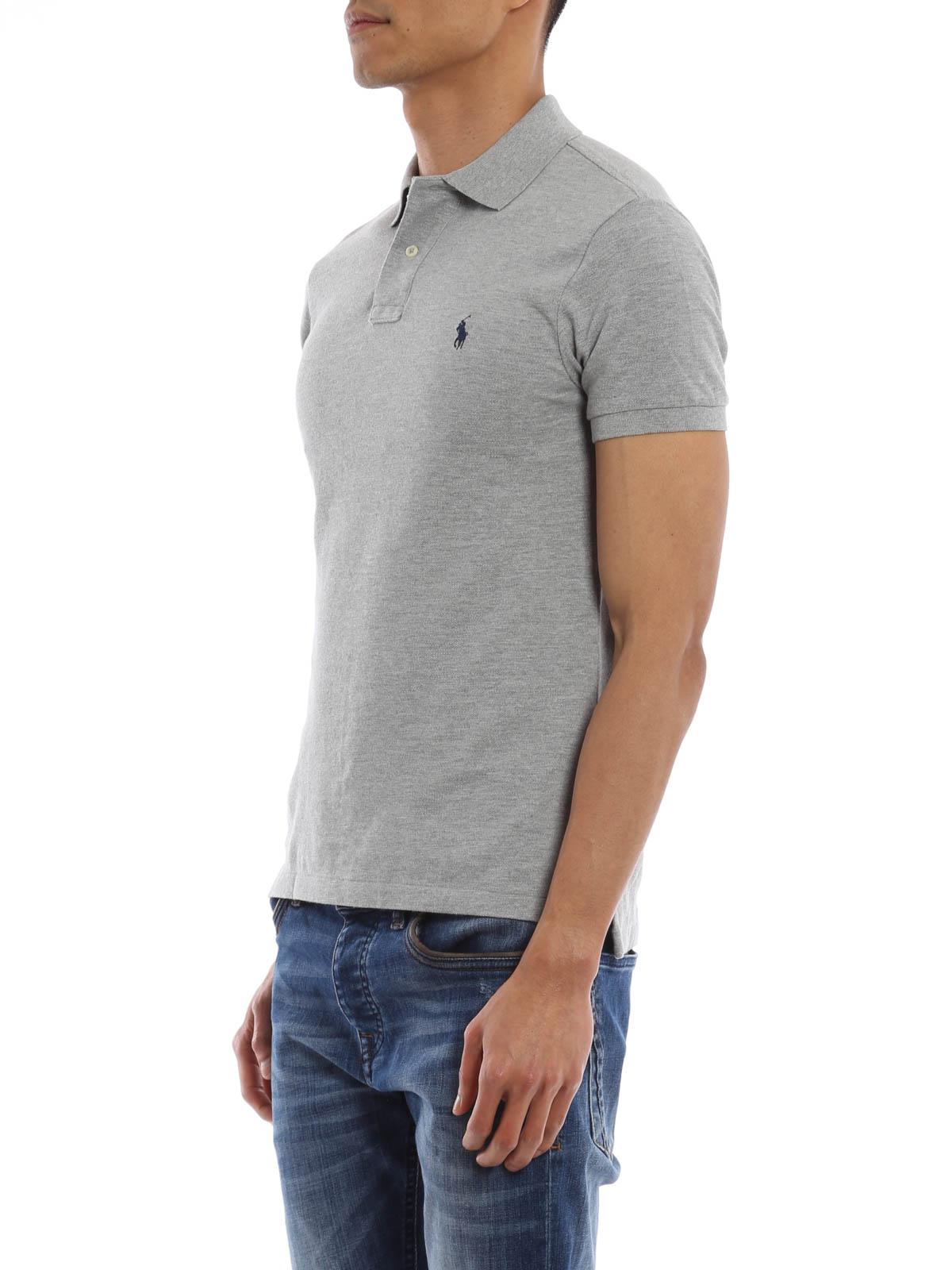 cotton pique polo shirt by polo ralph lauren polo shirts. Black Bedroom Furniture Sets. Home Design Ideas