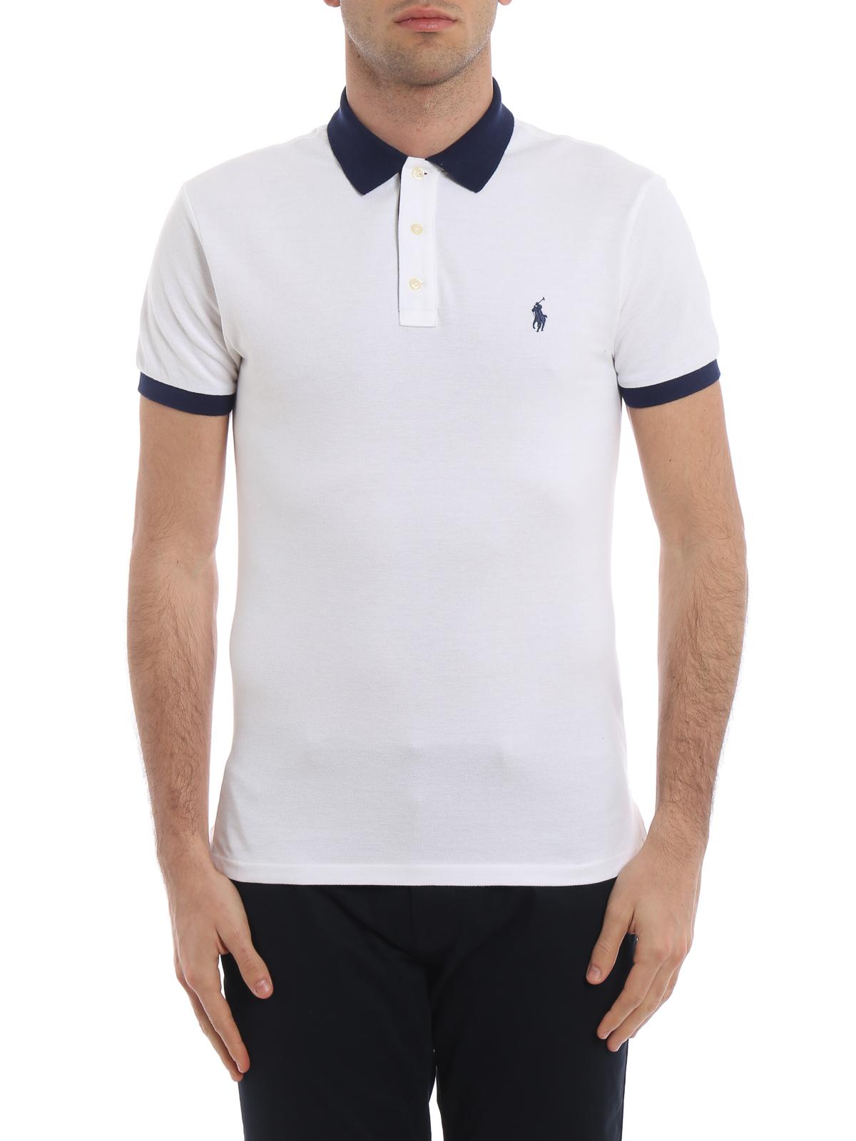 buy popular fe798 fec51 Polo Ralph Lauren - Poloshirt - Weiß - Poloshirts - 710752591003