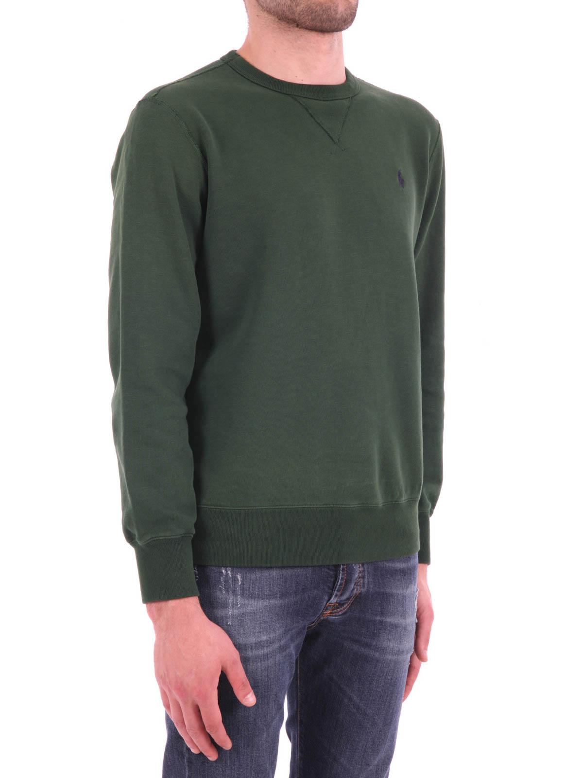 Foncé Pulls Vert Lauren Ralph Shirts Sweatshirts Polo Et Sweat 6ymY7fvbgI
