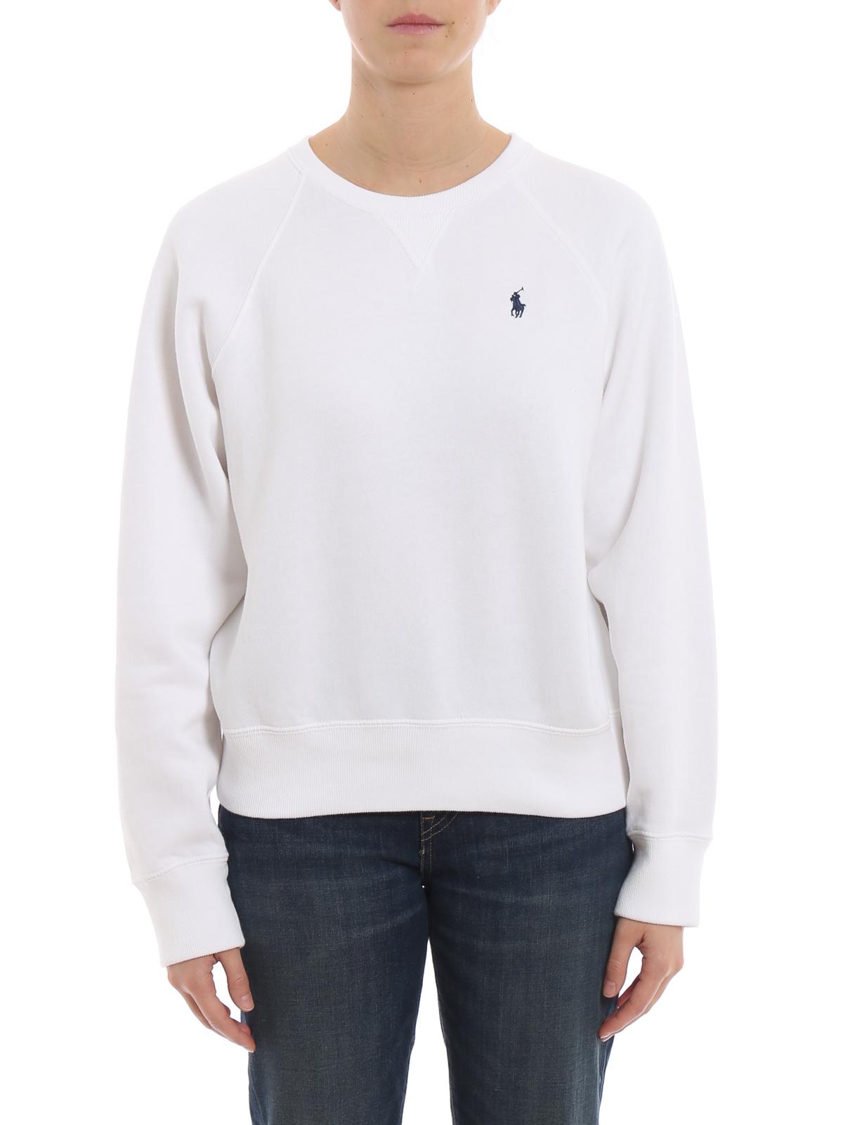 1b4b4c2198801 iKRIX POLO RALPH LAUREN  Sweatshirts   Pulls - Sweat-Shirts - Blanc