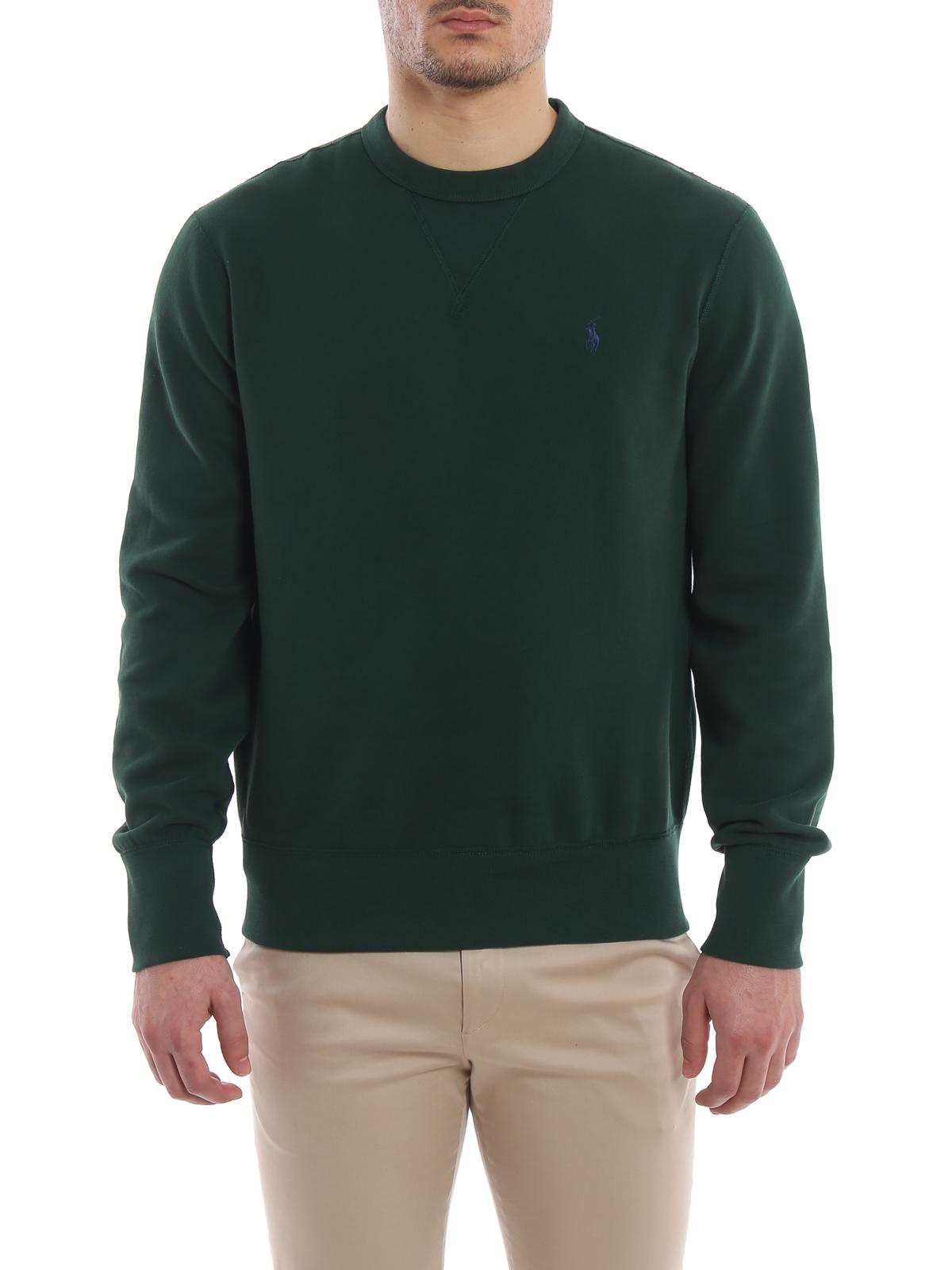release date: dbcb4 aff98 Polo Ralph Lauren - Sweatshirt - Grün - Sweatshirts und ...