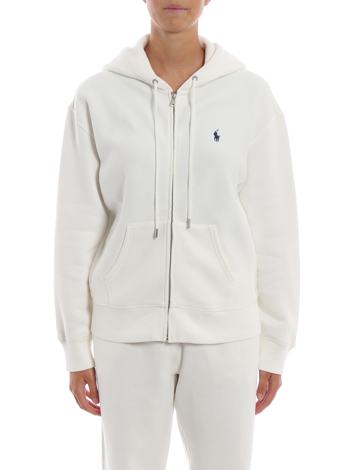 huge selection of b0348 94026 reduced white ralph lauren pullover hoodie 87376 a08b0