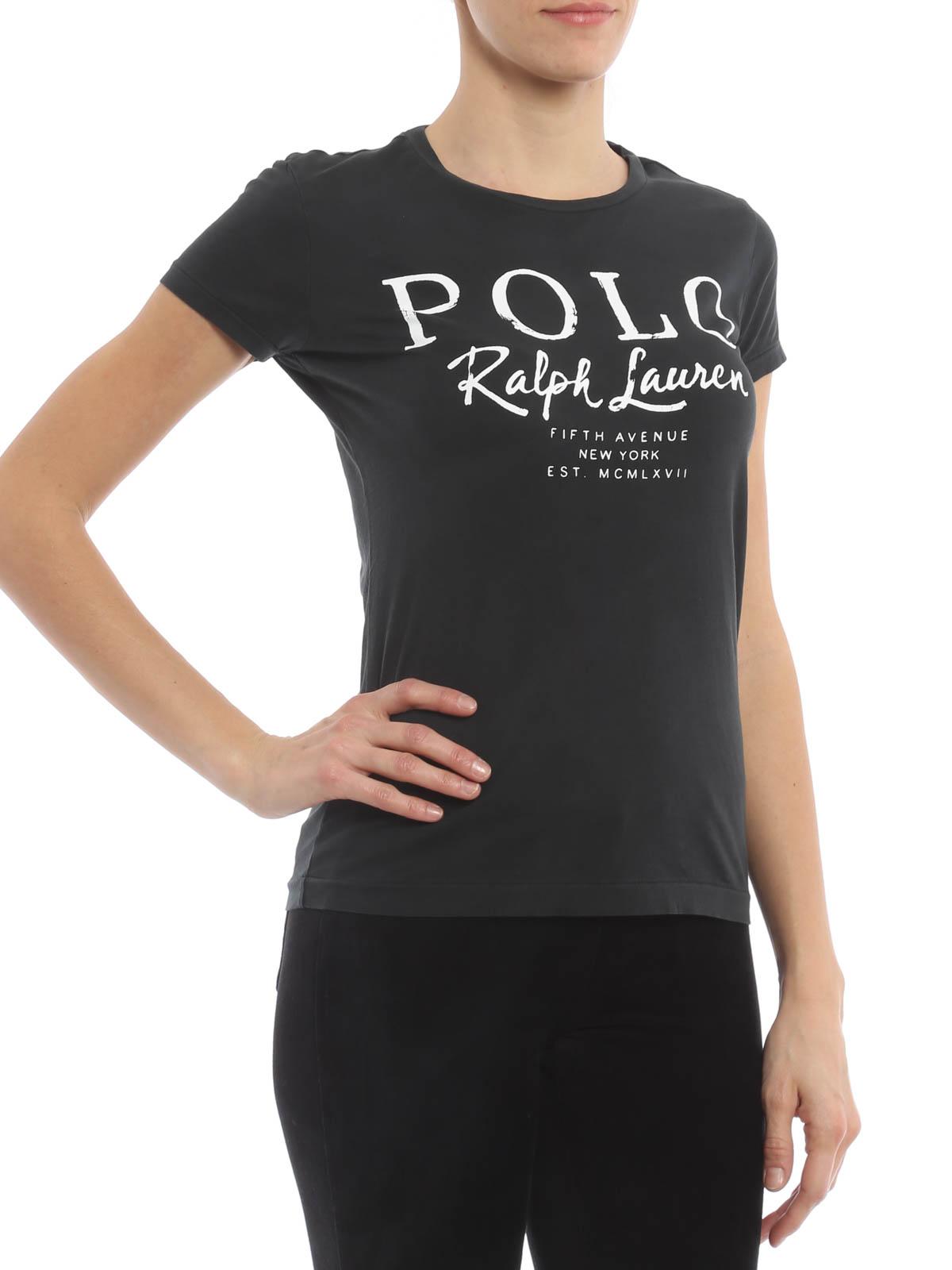 Cotton jersey t shirt de polo ralph lauren t shirts for Ralph lauren polo jersey shirt