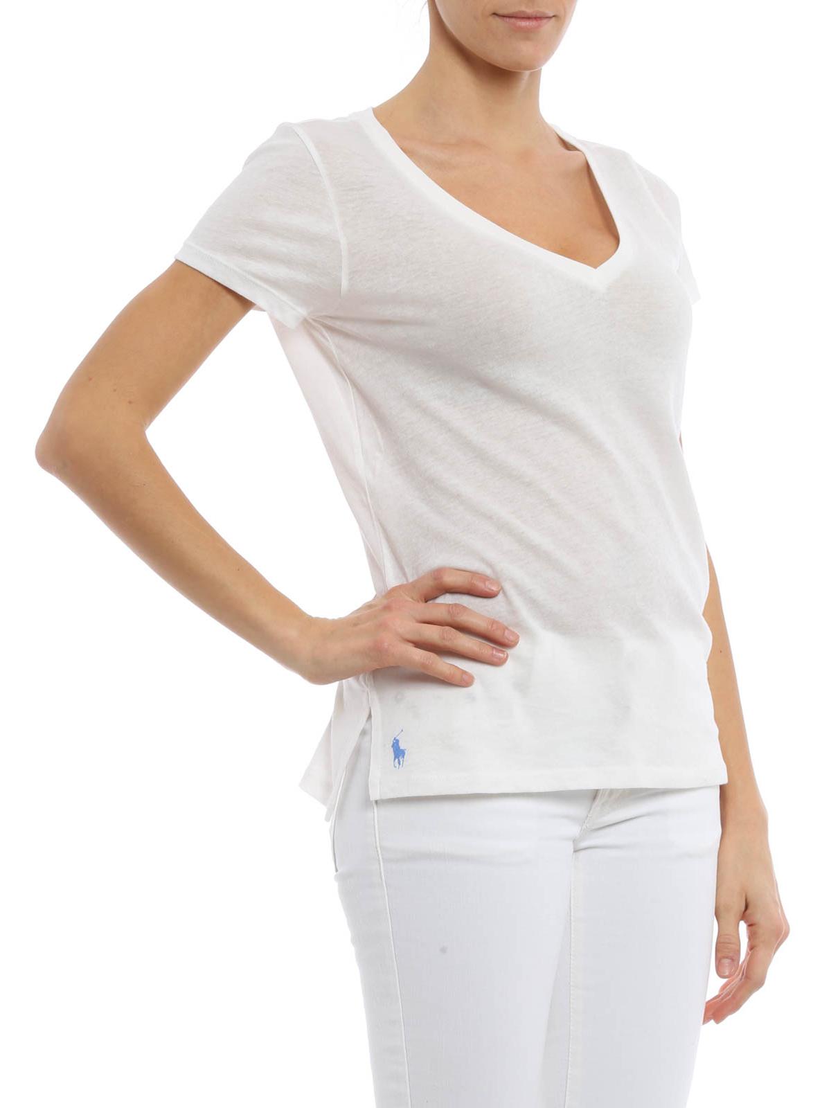 T shirt con logo goffrato polo ralph lauren t shirt ikrix for Ralph lauren logo shirt