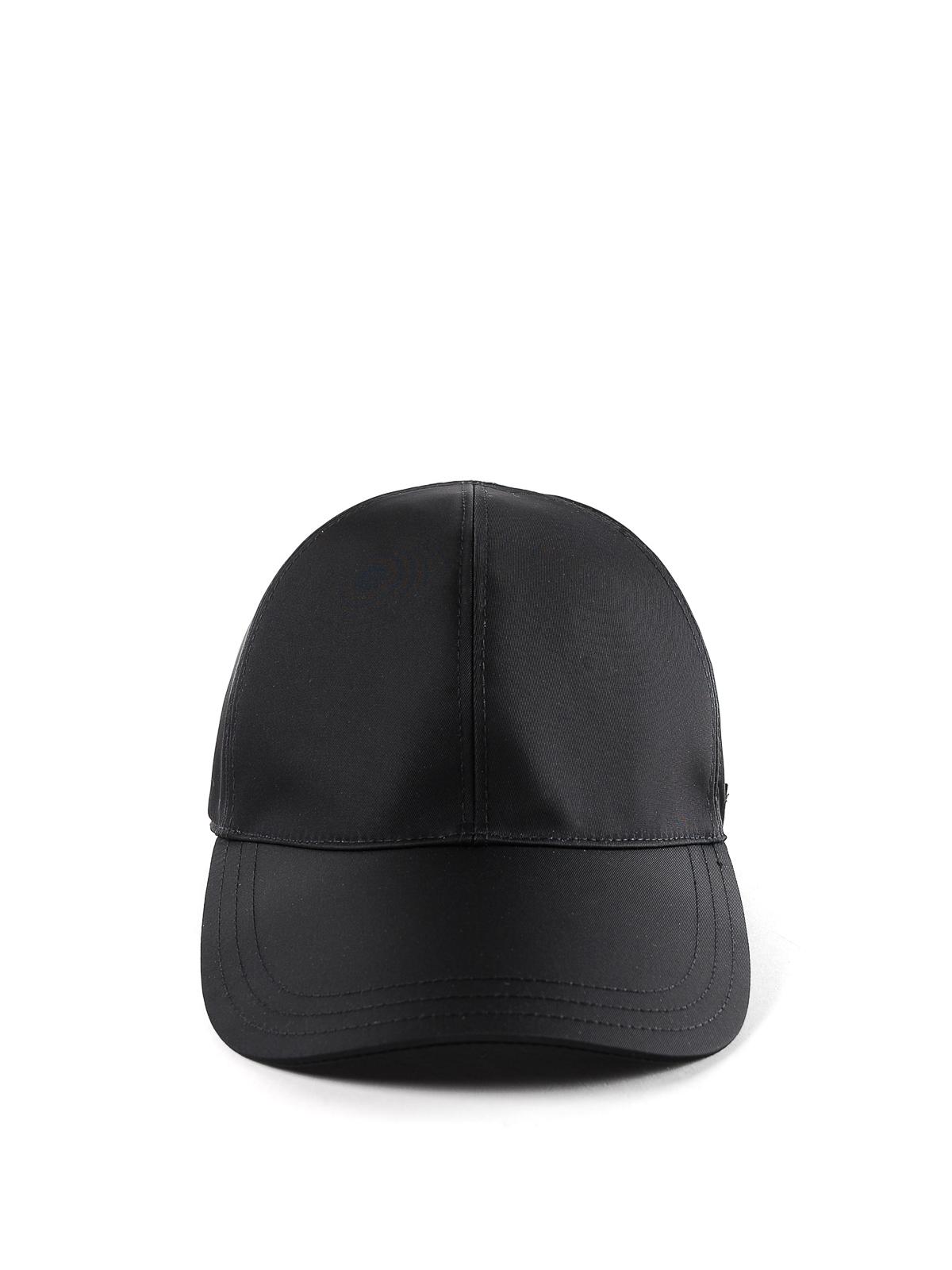 Prada - Chapeau - Noir - Chapeaux - 2HC274 820 002   iKRIX.com 414e722747a