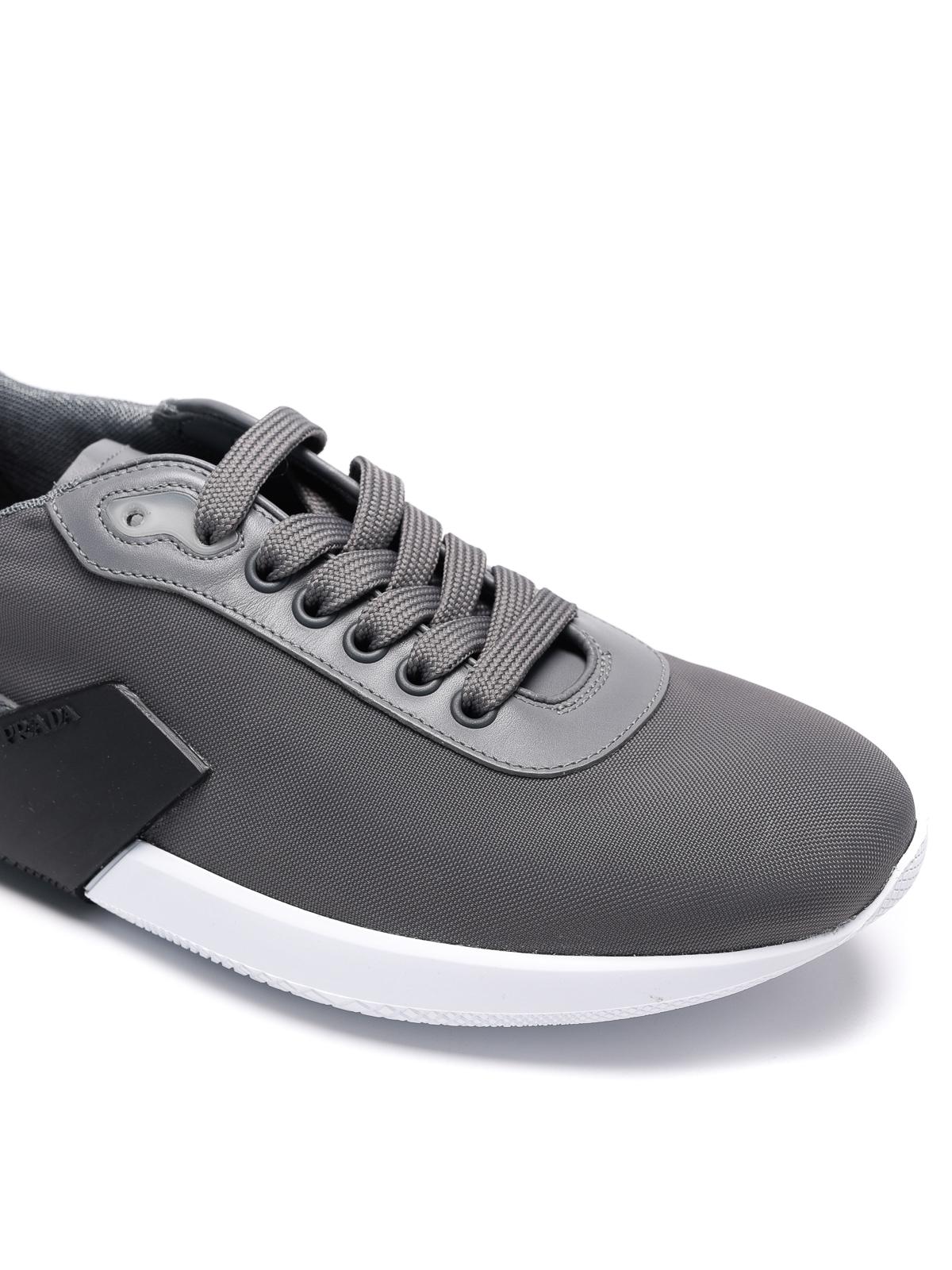 Prada Linea Rossa - Nylon tech sneakers