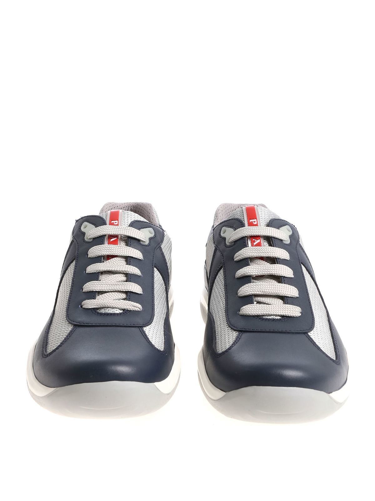 Prada Sport - Blue and silver leather
