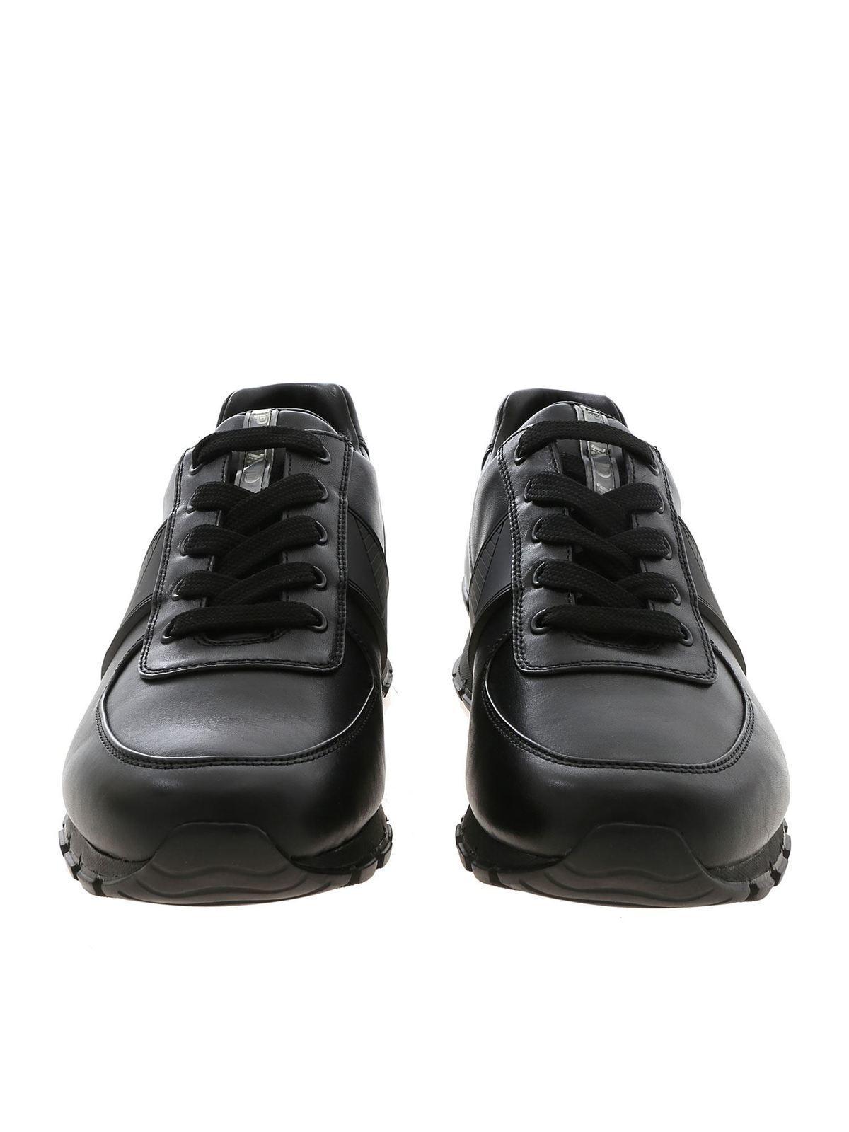 Prada Sport - Sneakers in black with
