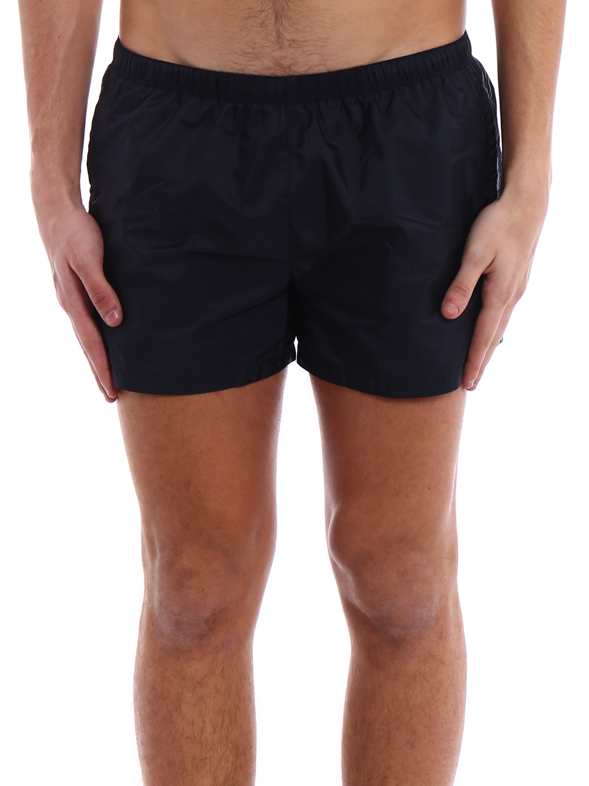 00f6035638f42 iKRIX PRADA: Swim shorts & swimming trunks - Dark blue nylon swim shorts