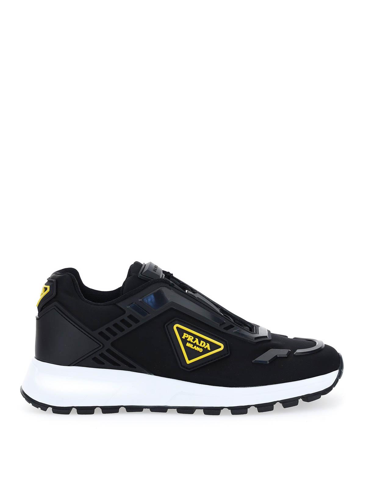Prada - Neon logo sneakers - trainers