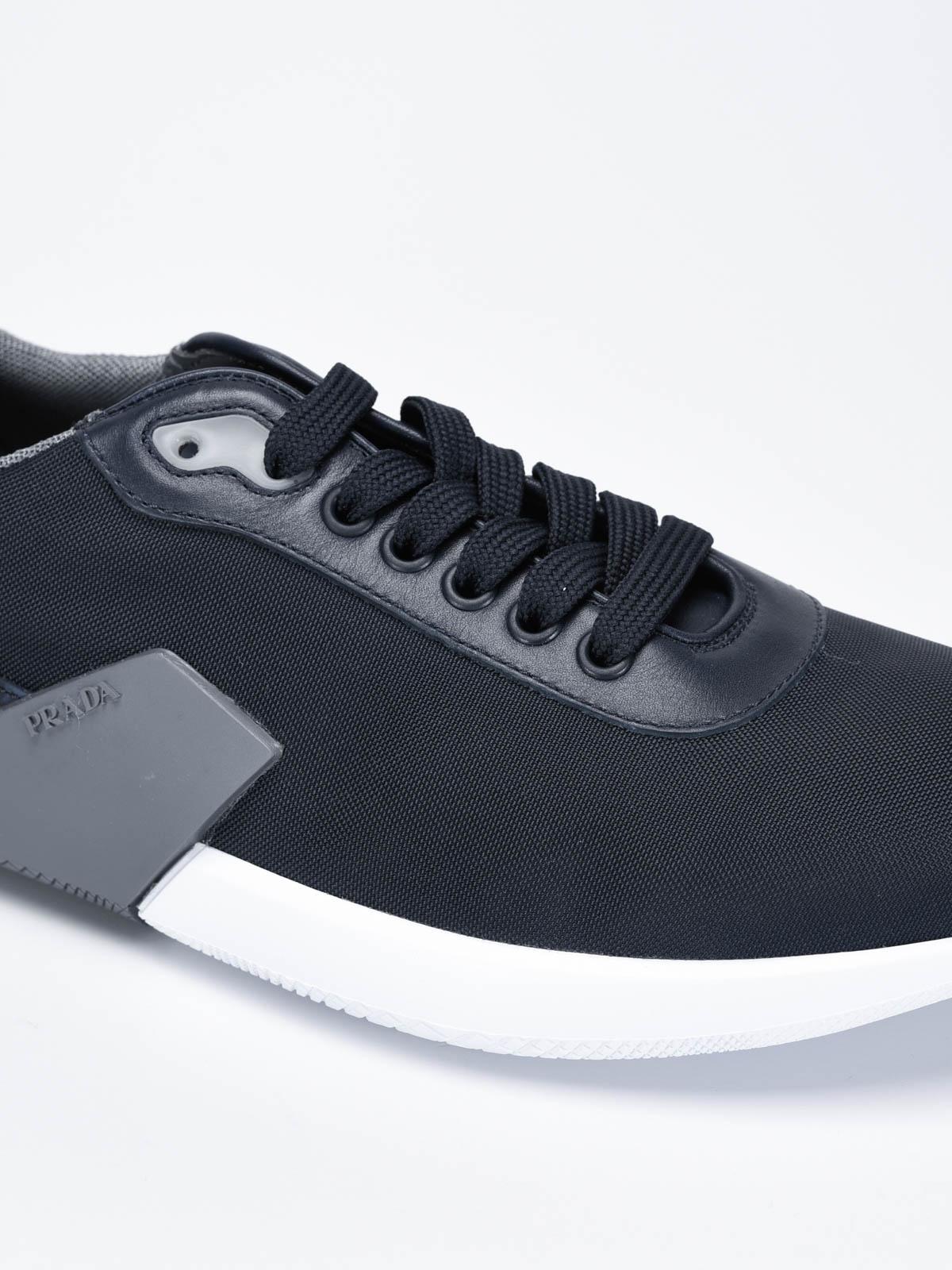 Prada - Nylon tech sneakers - trainers