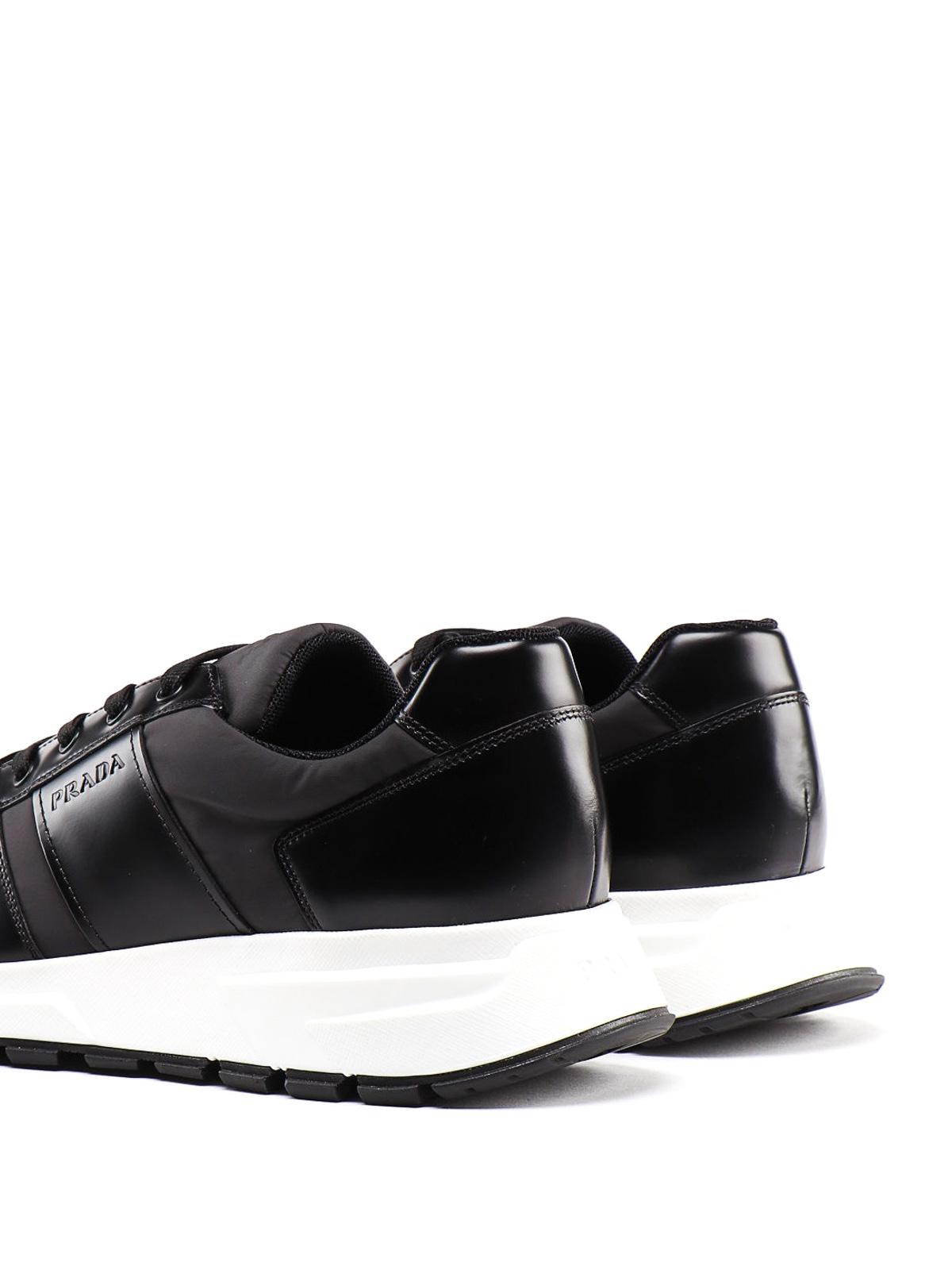 Prada - Prax 01 black sneakers