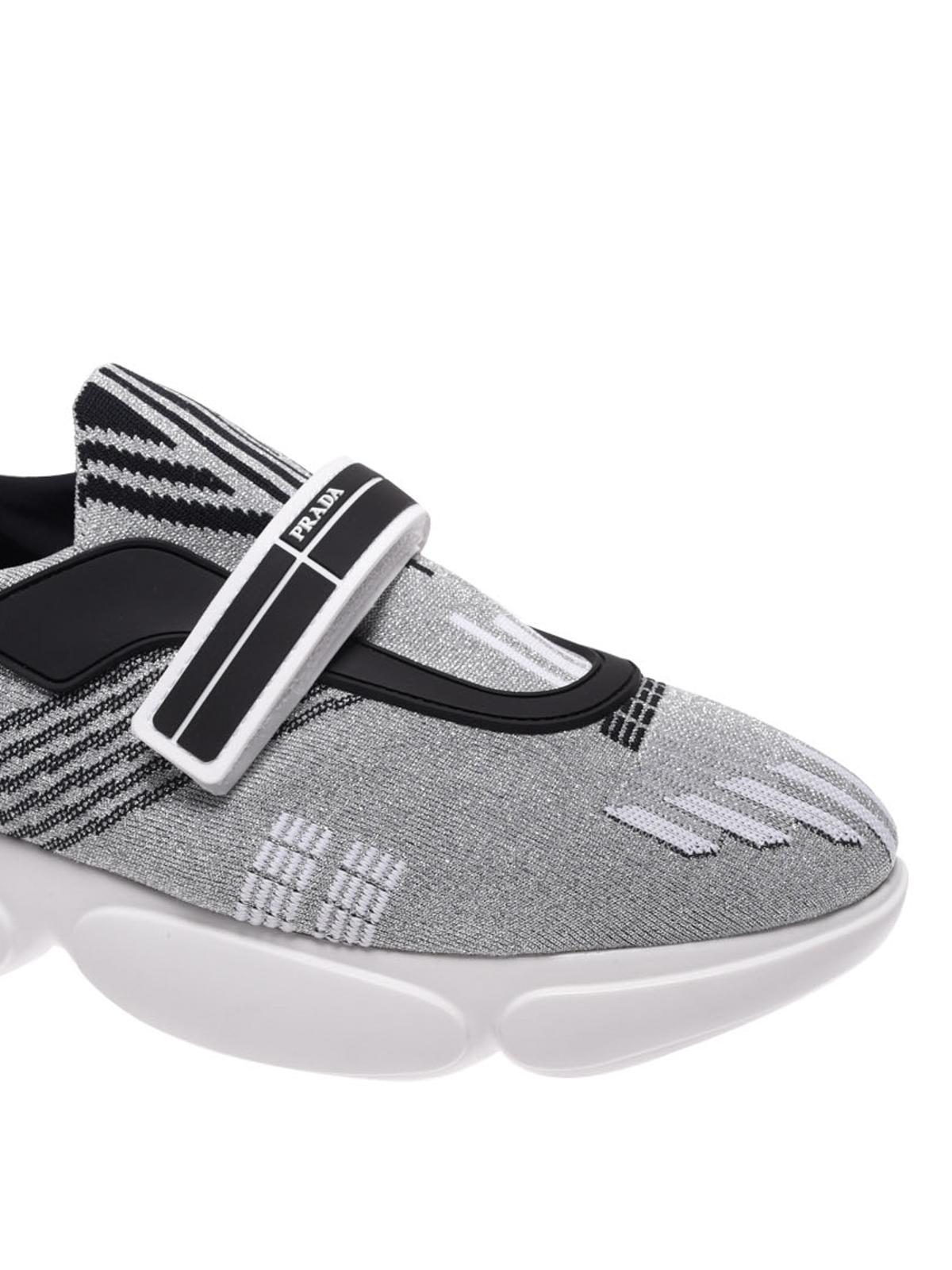 Prada - Silver Cloudburst sneakers