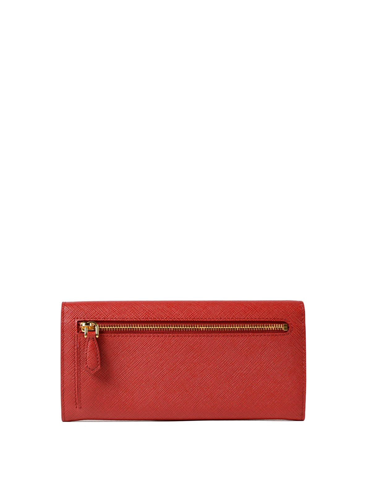 004aa9dadb89 iKRIX PRADA: wallets & purses - Red saffiano continental wallet