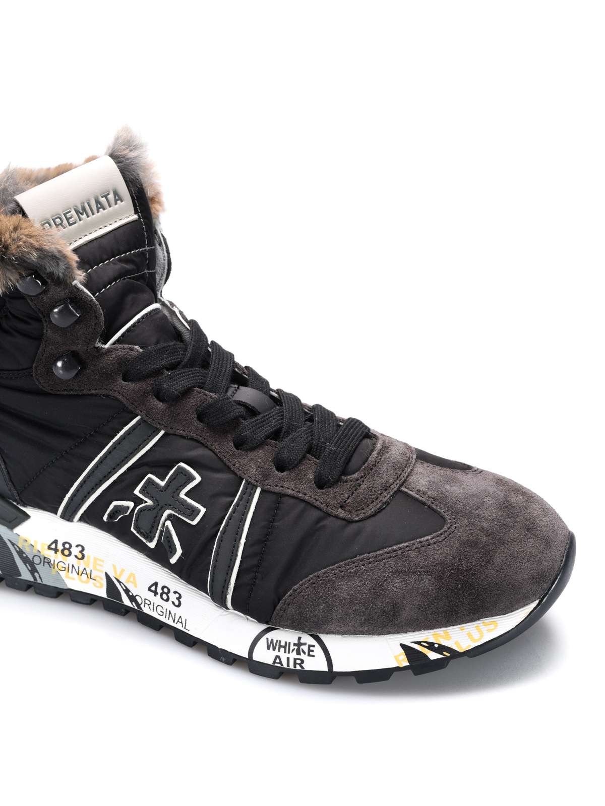 Premiata Sneaker alte Alan con interno lapin sneakers
