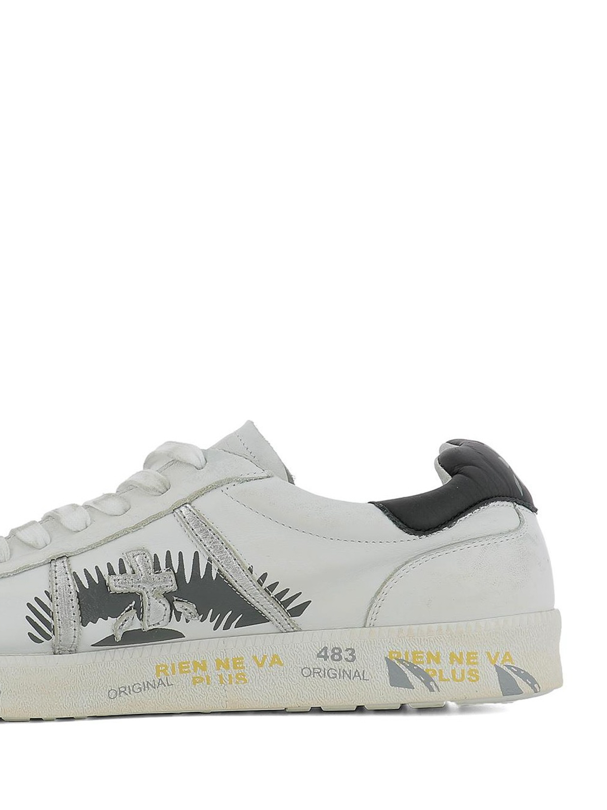 3fab0eb5a0 Premiata - Sneaker basse Andy in pelle bianca - sneakers - ANDY 3094