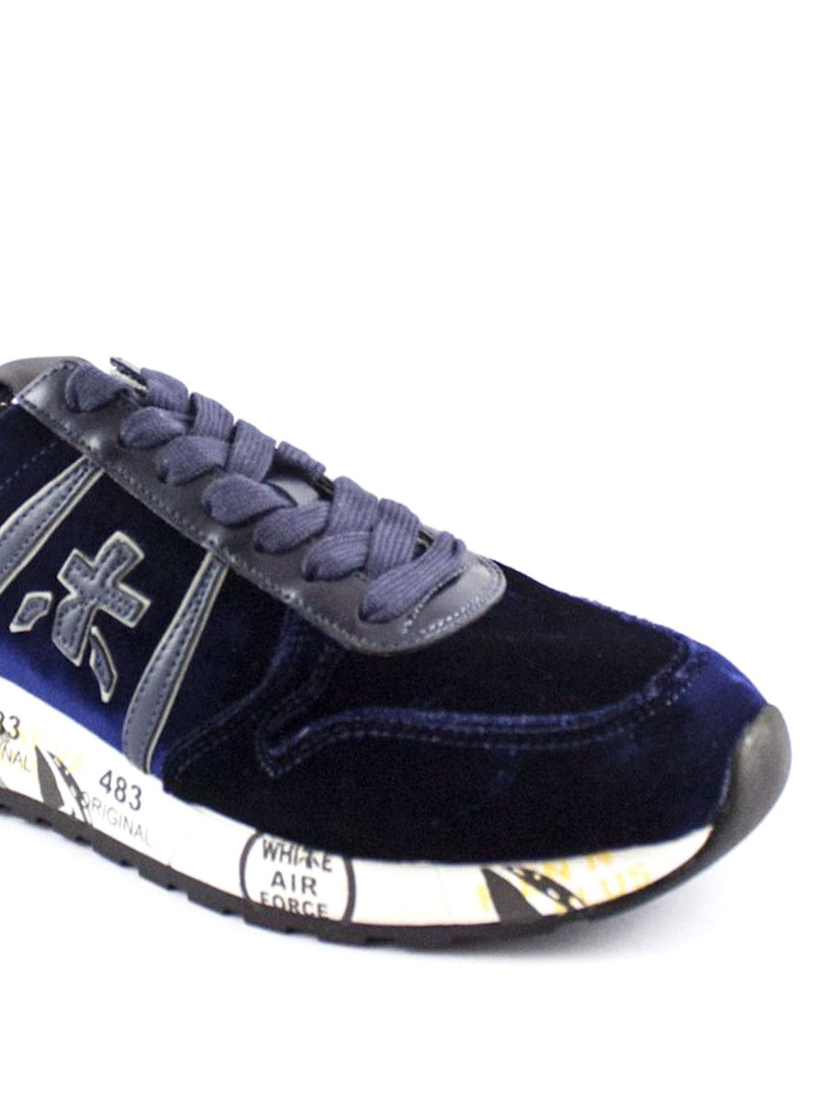 Premiata Sneaker Diane 2633 in velluto sneakers DIANE2633