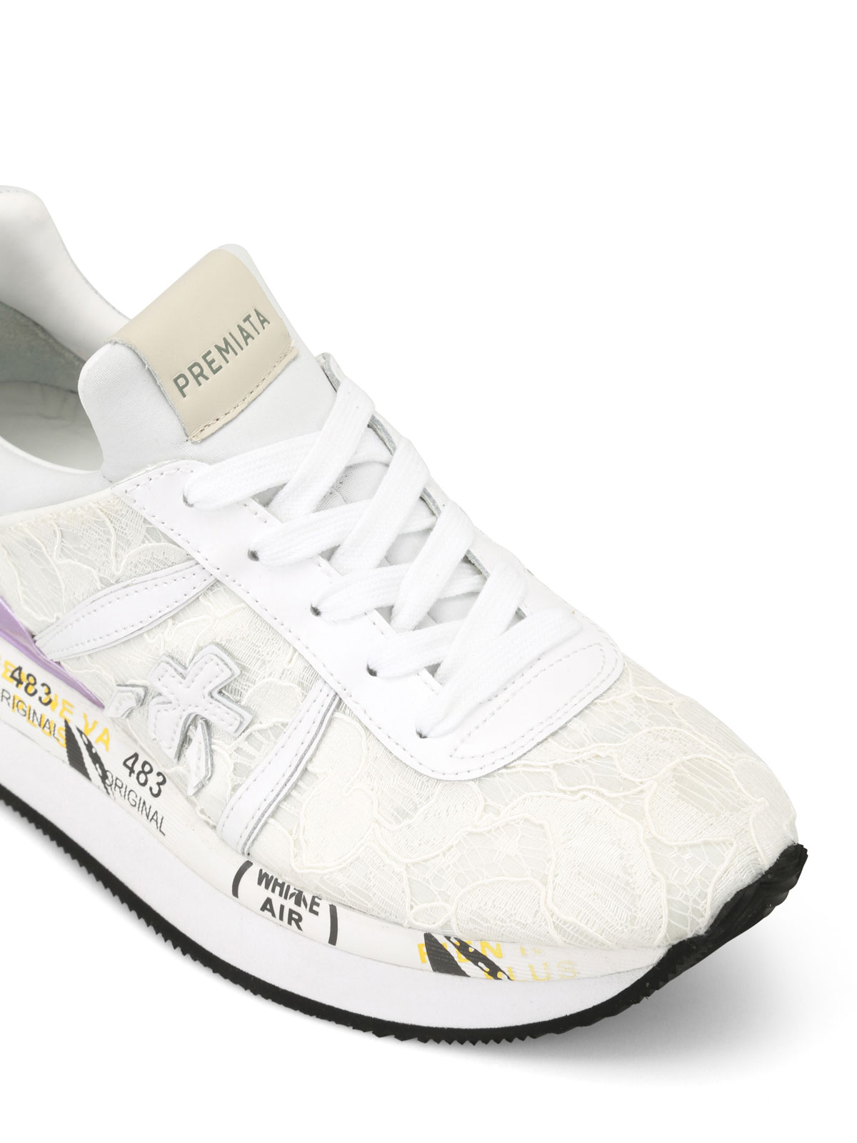 Premiata Sneaker Liz con pizzo sneakers LIZ3003