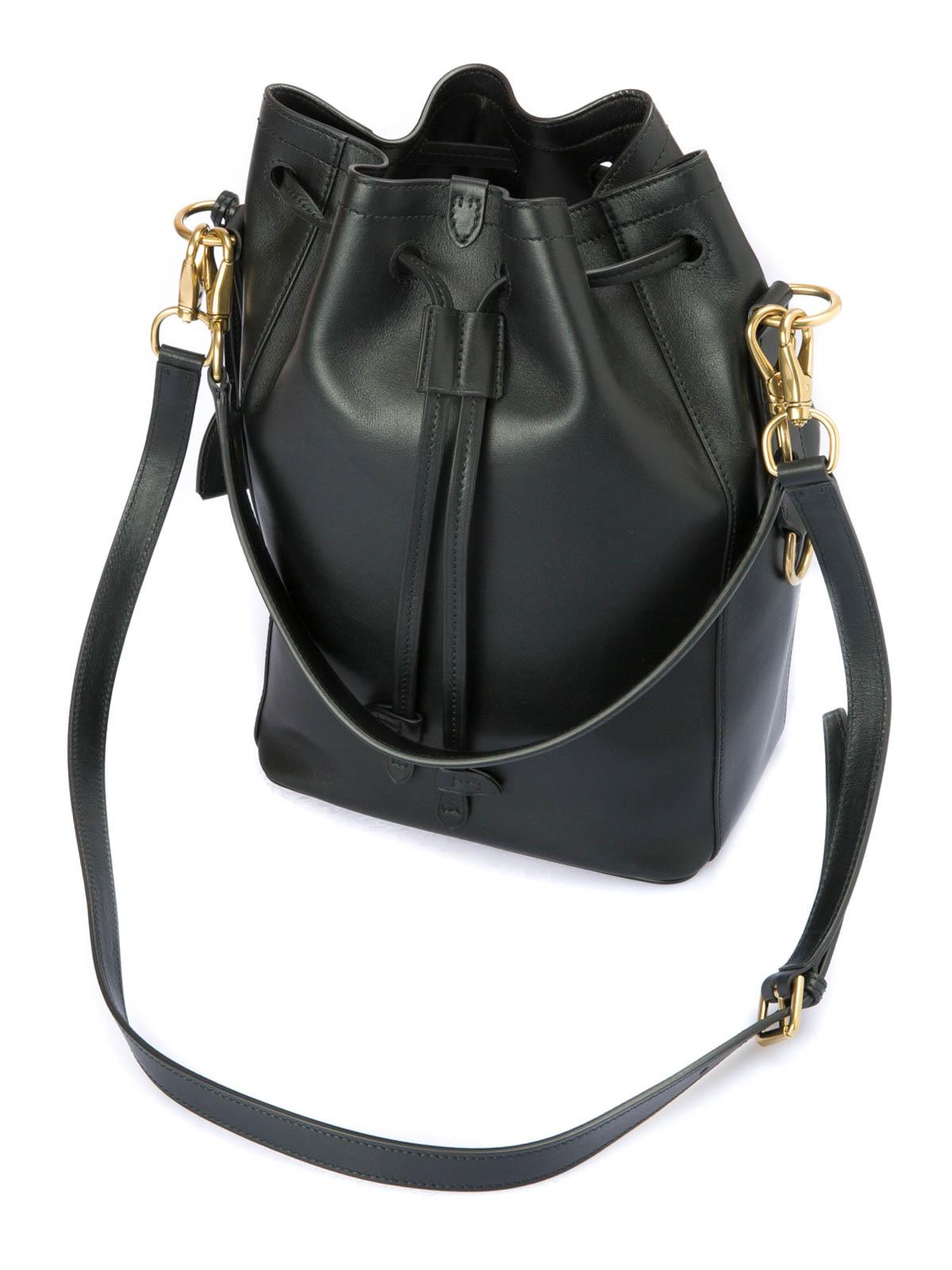 0881046f54d9 sweden ikrix ralph lauren bucket bags leather bucket bag aec1e 84516