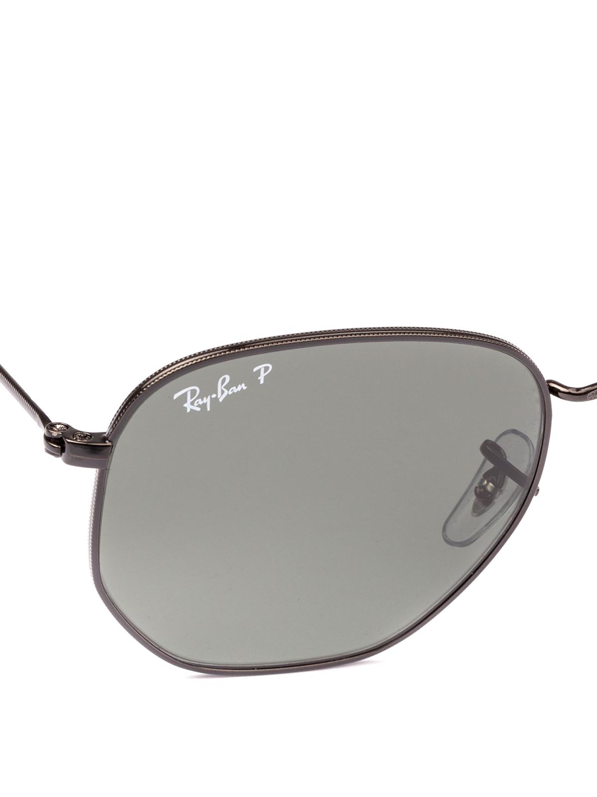 b51e441d8f6db iKRIX RAY-BAN  sunglasses - Hexagonal frame dark lenses sunglasses