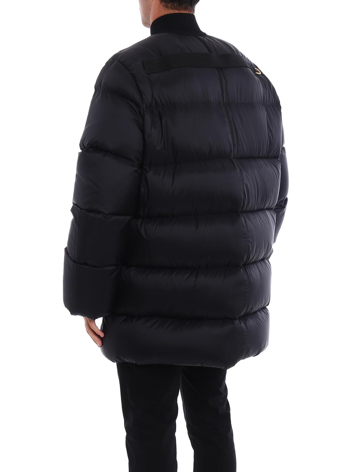 c910984738b iKRIX RICK OWENS HUN  padded coats - Cashmere detail Glitter padded coat