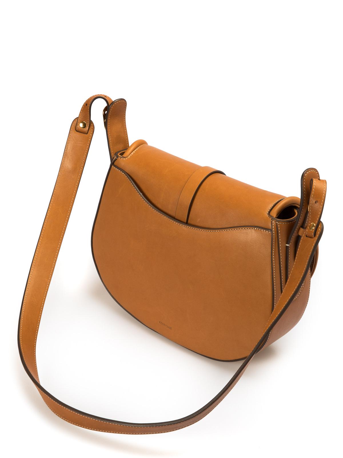 1cd4c1107a7f iKRIX ROBERTO CAVALLI  shoulder bags - Smooth leather horn detailed bag
