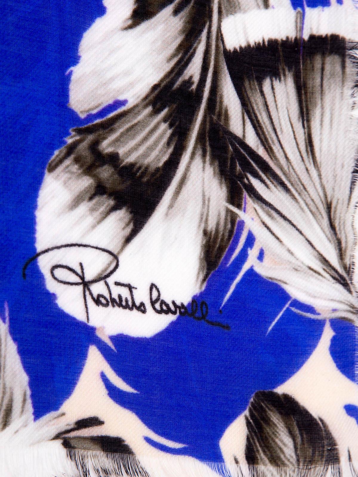 premium selection 16166 17997 Roberto Cavalli - Plumage print stole - Stoles & Shawls ...