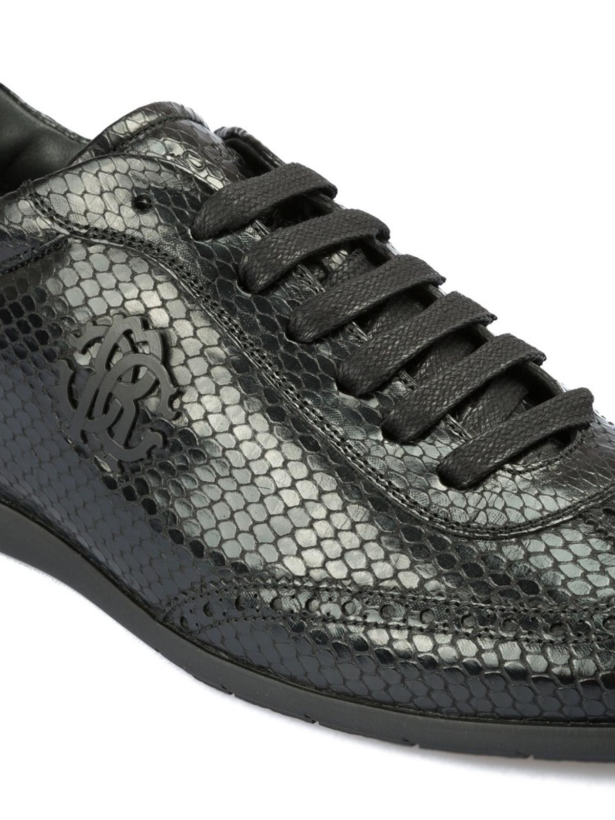 Roberto Cavalli - Python print leather