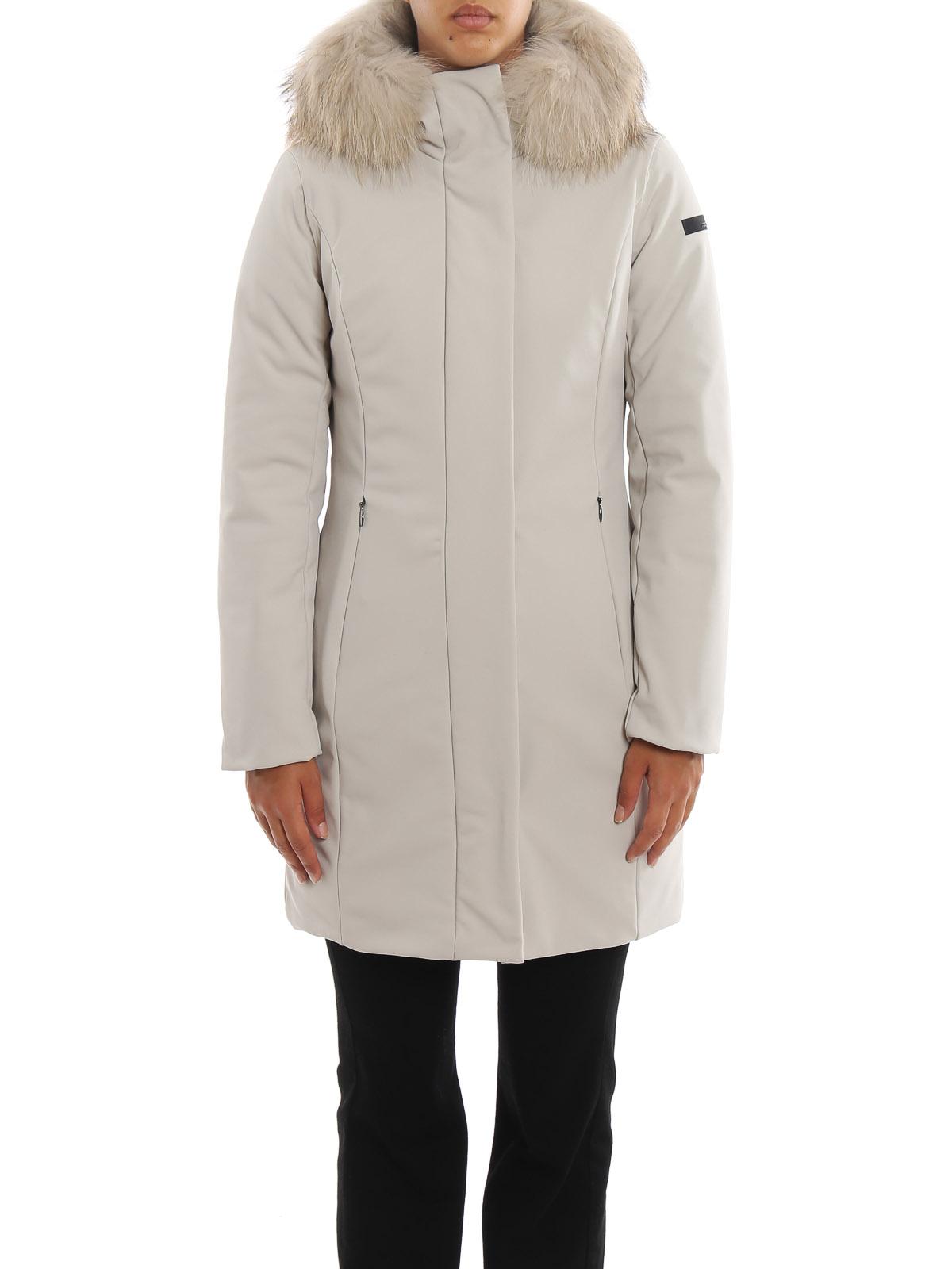 RRD Piumino Winter Long Lady Fur cappotti imbottiti