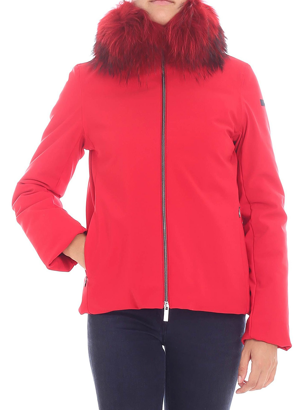 RRD Winter K Lady Fur red padded jacket padded jackets