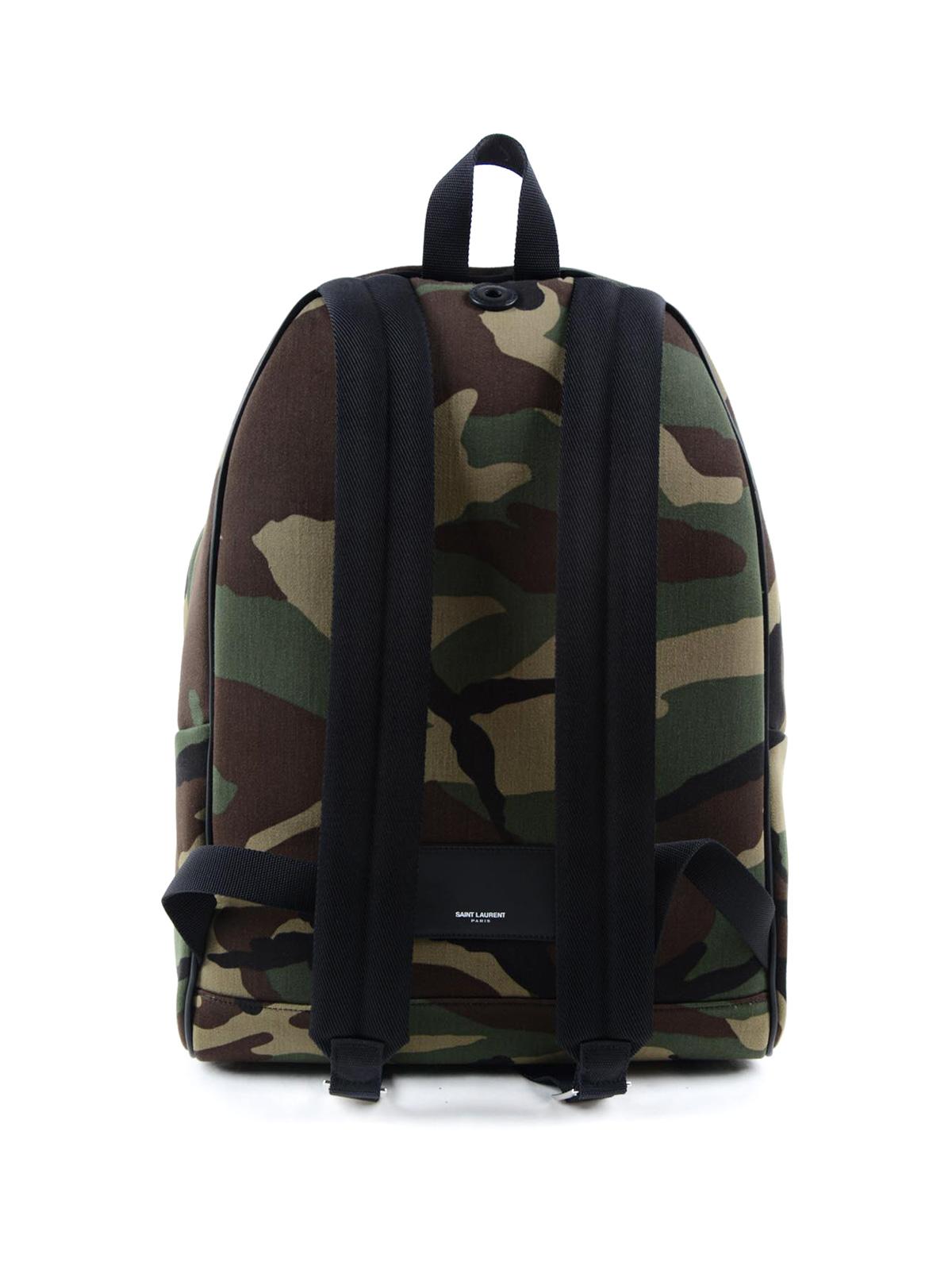 a56fb8c2d3 iKRIX SAINT LAURENT: backpacks - City Sweet Dreams patch backpack