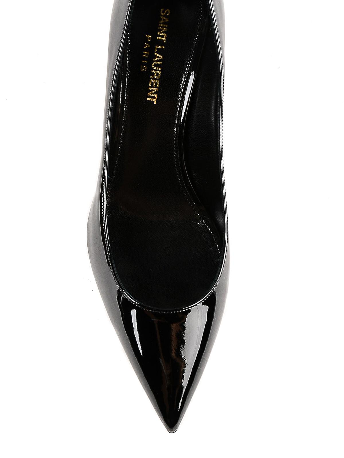 b770b8cda33 iKRIX SAINT LAURENT  court shoes - Charlotte 55 patent leather pointy pumps