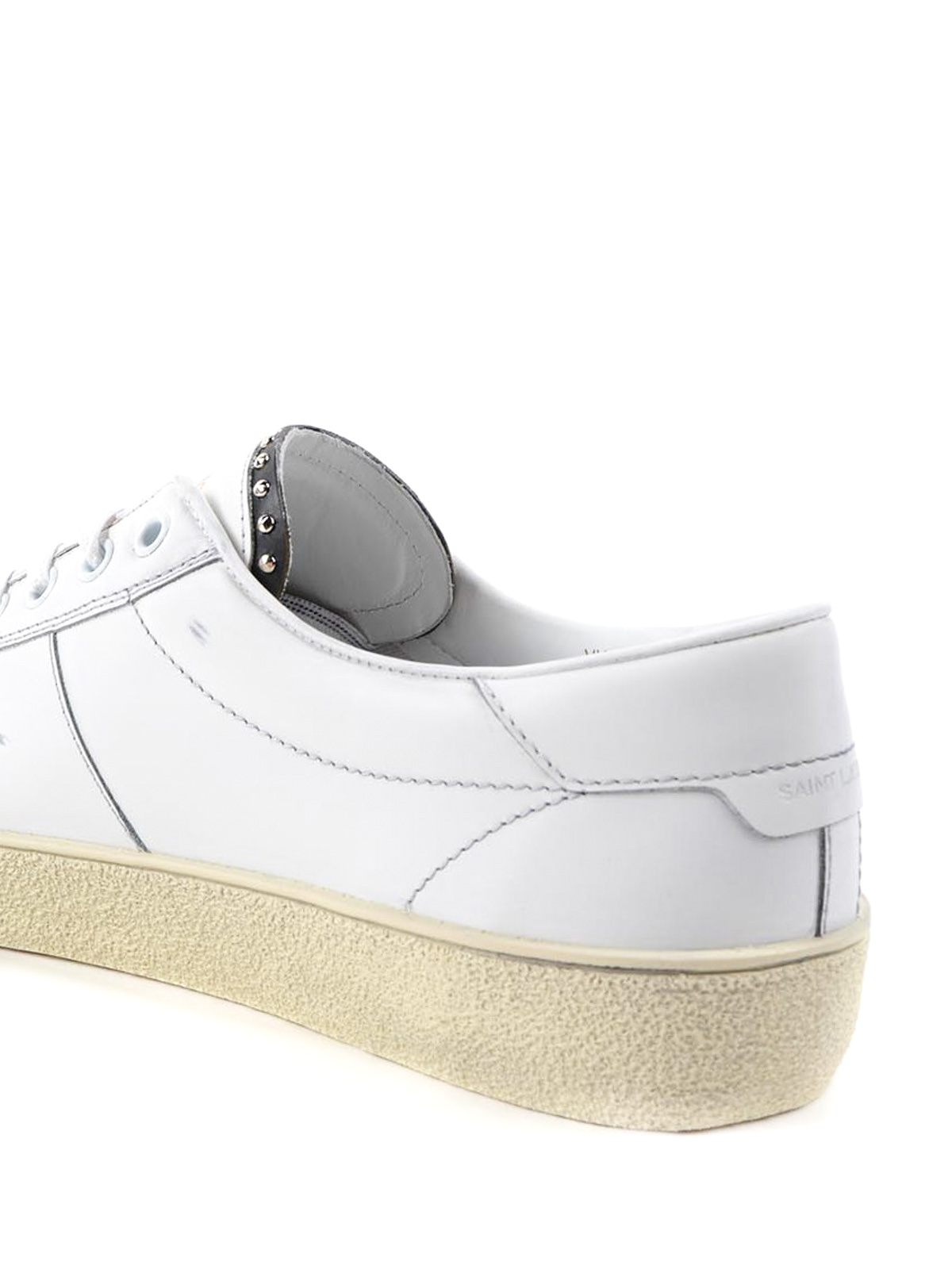 a0868f048415 Saint Laurent - Micro studs leather sneakers - trainers - 458946 ...