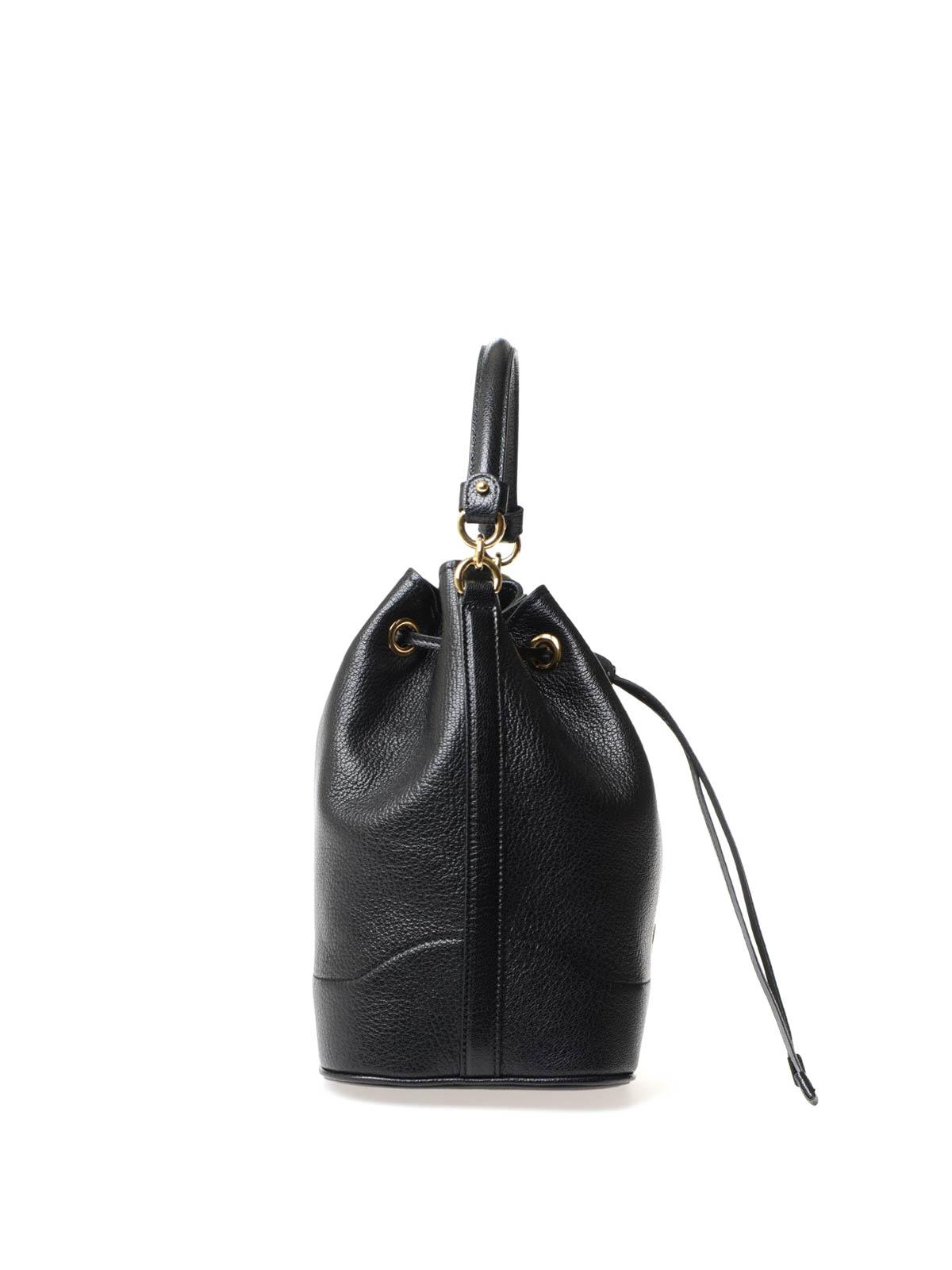 a21f977814f4 iKRIX SALVATORE FERRAGAMO  Bucket-bags - Bucket-Bag Millie - Schwarz