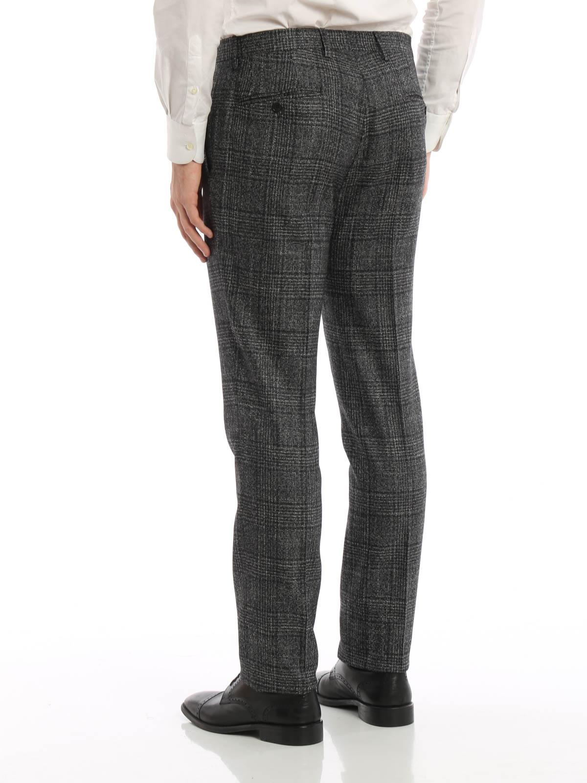 Salvatore Ferragamo Pantalon De Vestir Gris Para Hombre Pantalones De Sastreria 65259214s722