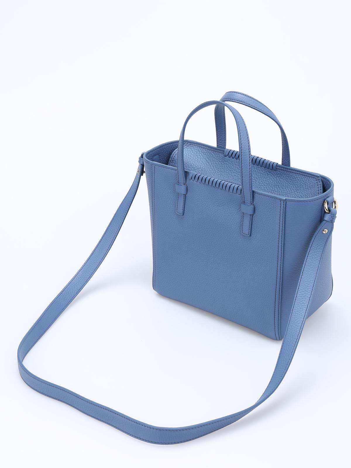 5eb89d90999c iKRIX SALVATORE FERRAGAMO  totes bags - Marta pebbled leather small tote