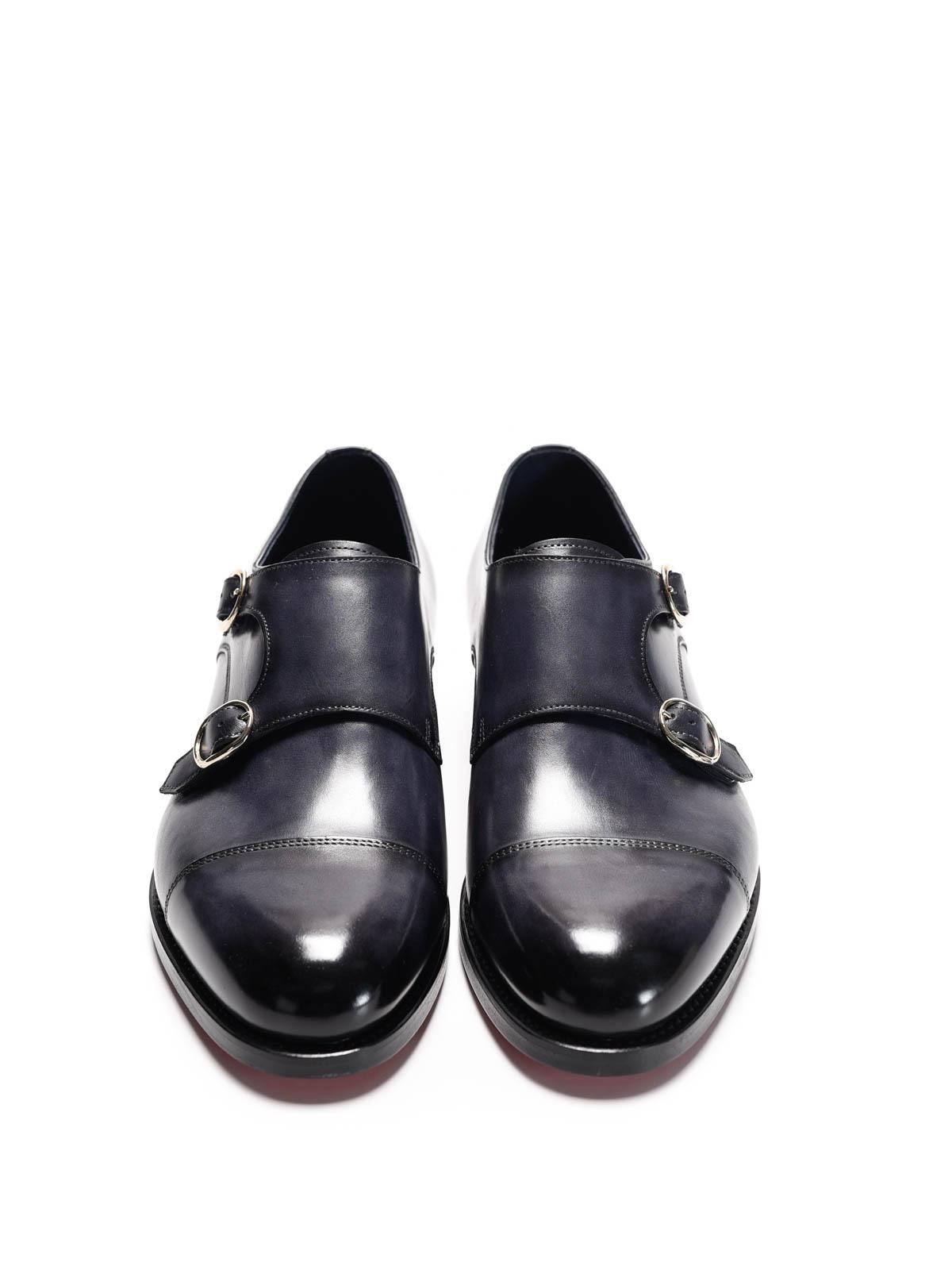 2c7b2e906ec2d Santoni - Scarpe classiche monk strap - classiche - 13973