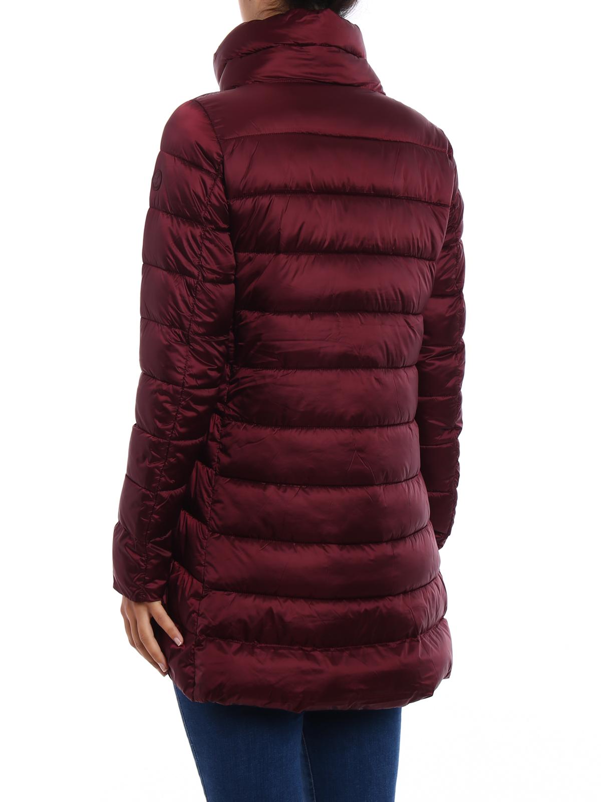 iKRIX Save the Duck: padded coats - Iris nylon cowl collar puffer coat
